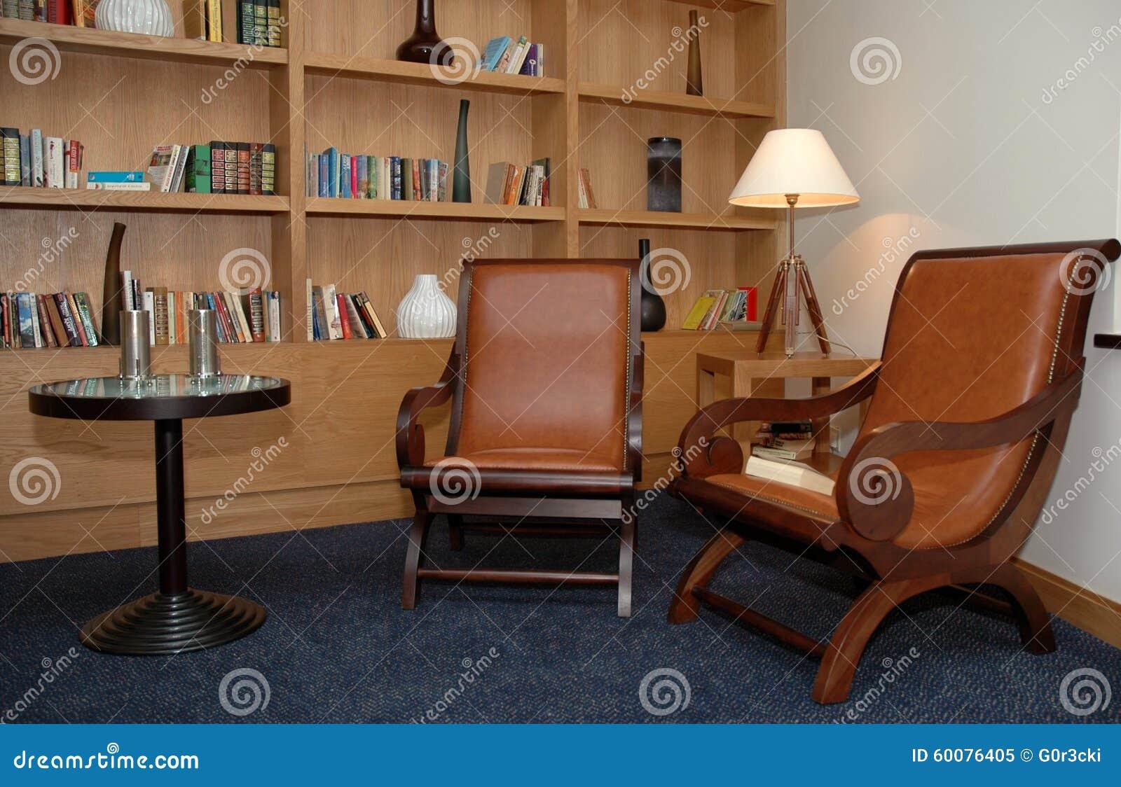 Książka pokój Mała biblioteka - Biurowy kąt - Domowy -