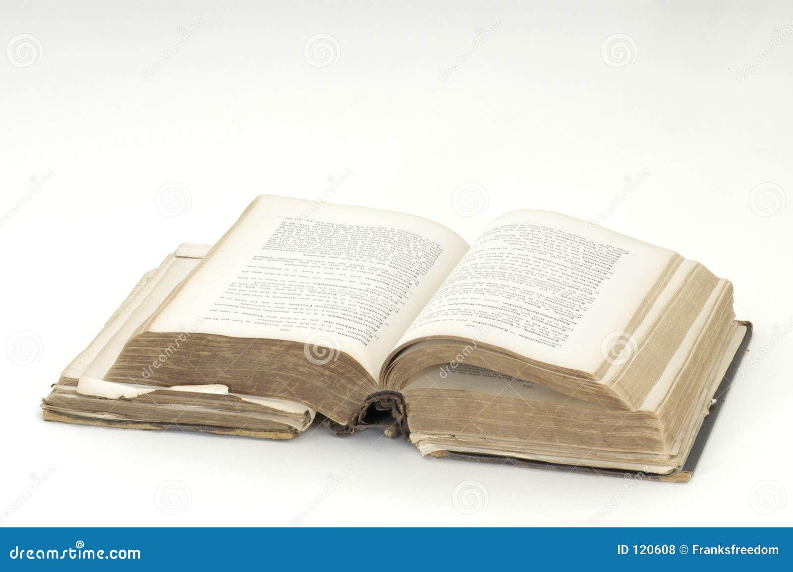 Książka to antyk