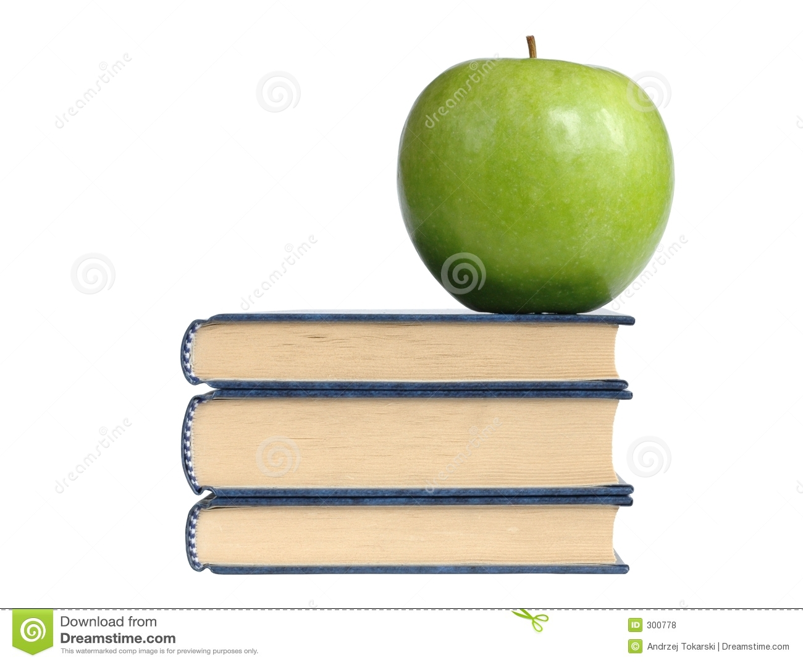 Książki jabłczana green