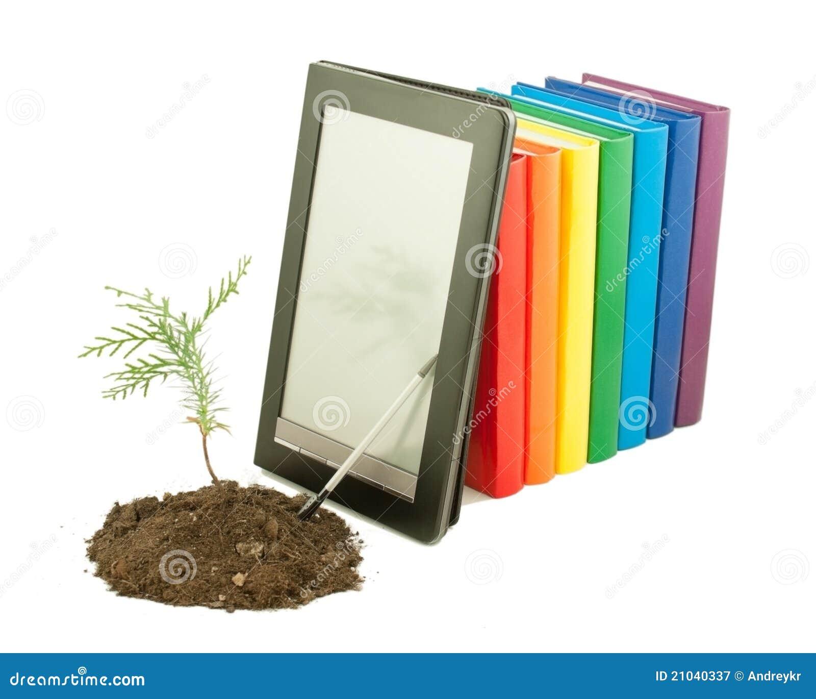 Książki książek e rzędu rozsady drzewo