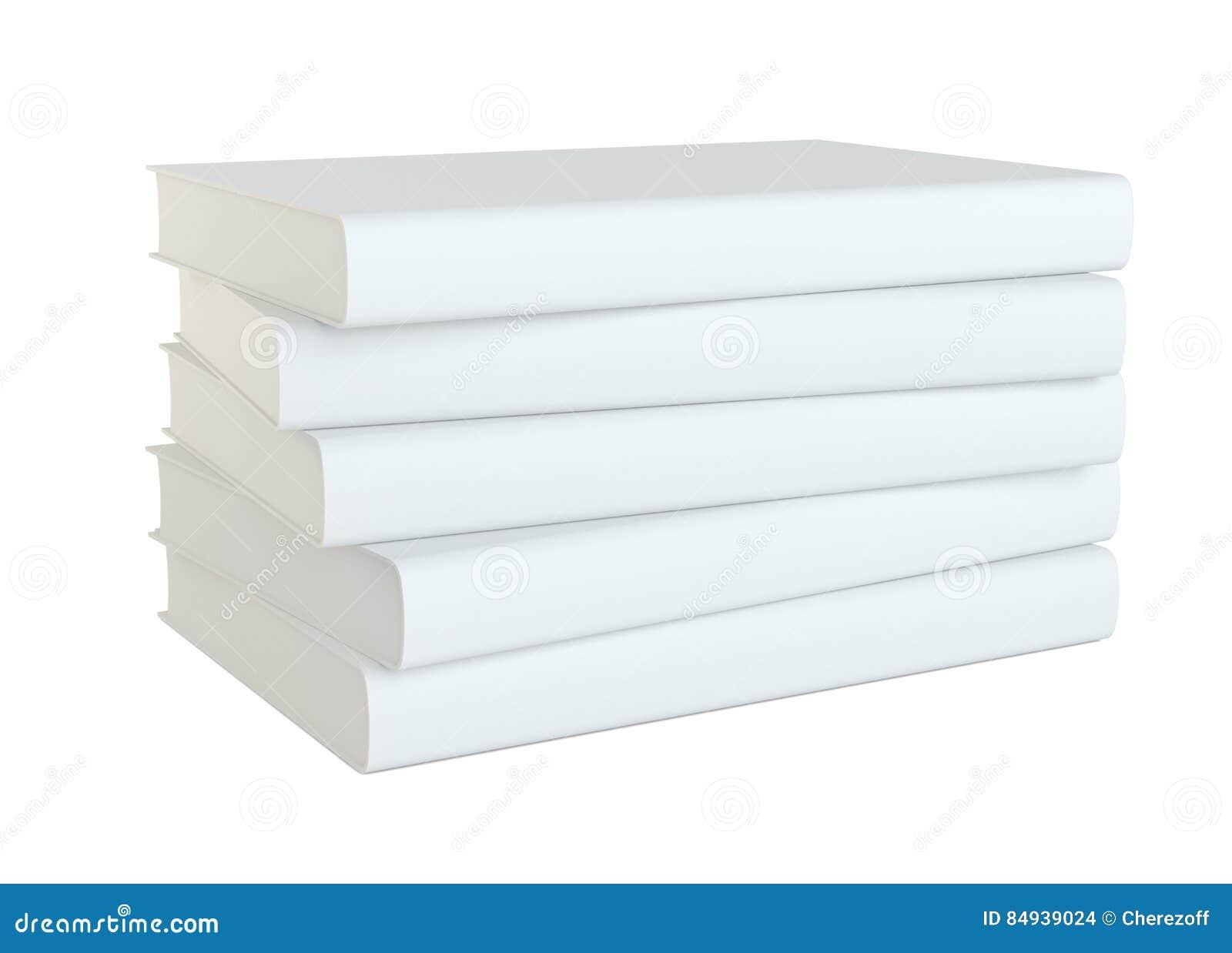 Książki odizolowane białe tło
