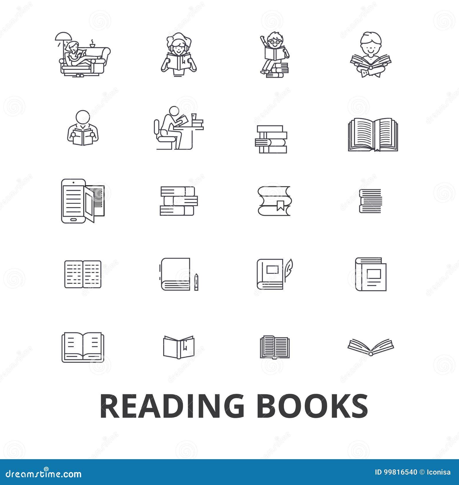Książki, otwarta książka, sterta książki, półka na książki, biblioteka, czytająca, czytelnicza książka, papier kreskowe ikony Edi