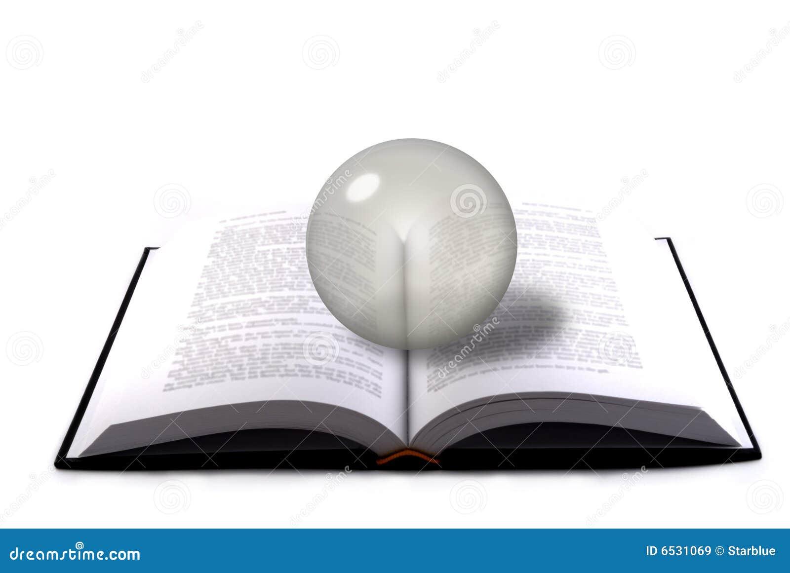 Książkowa krystaliczna sfera