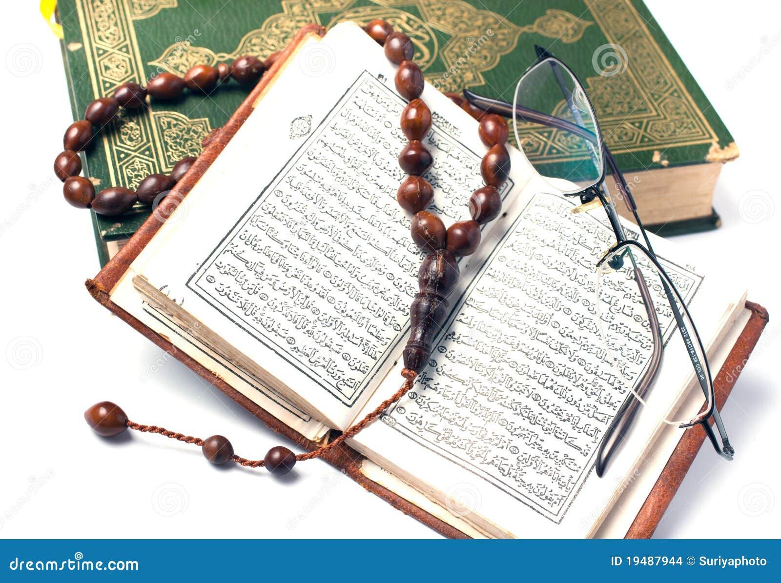 Książkowy święty koran