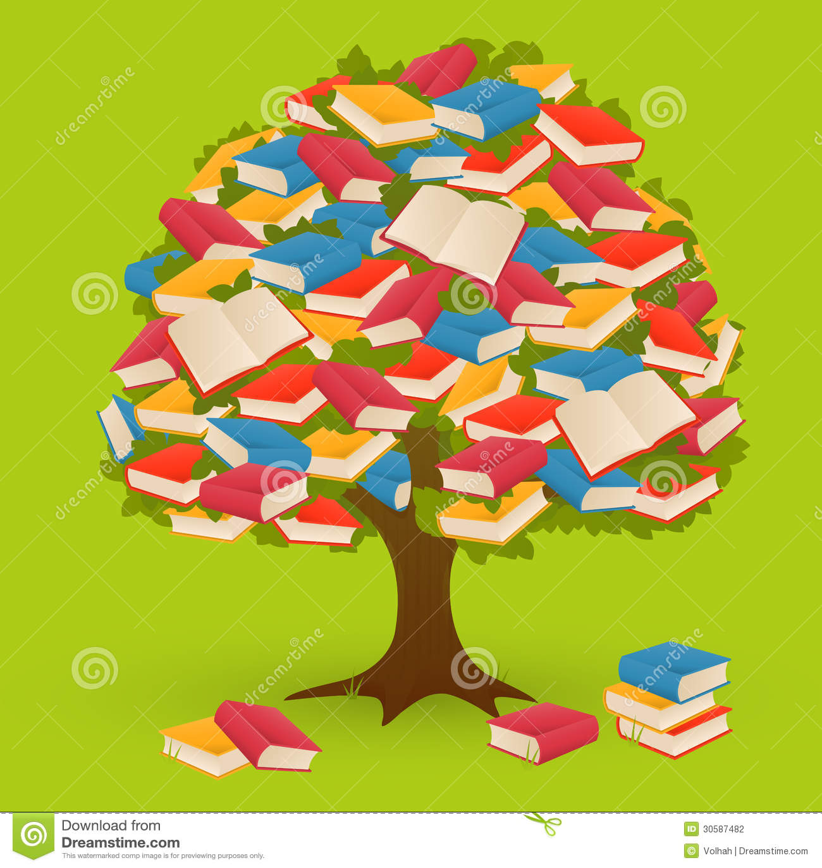 Książkowy drzewo