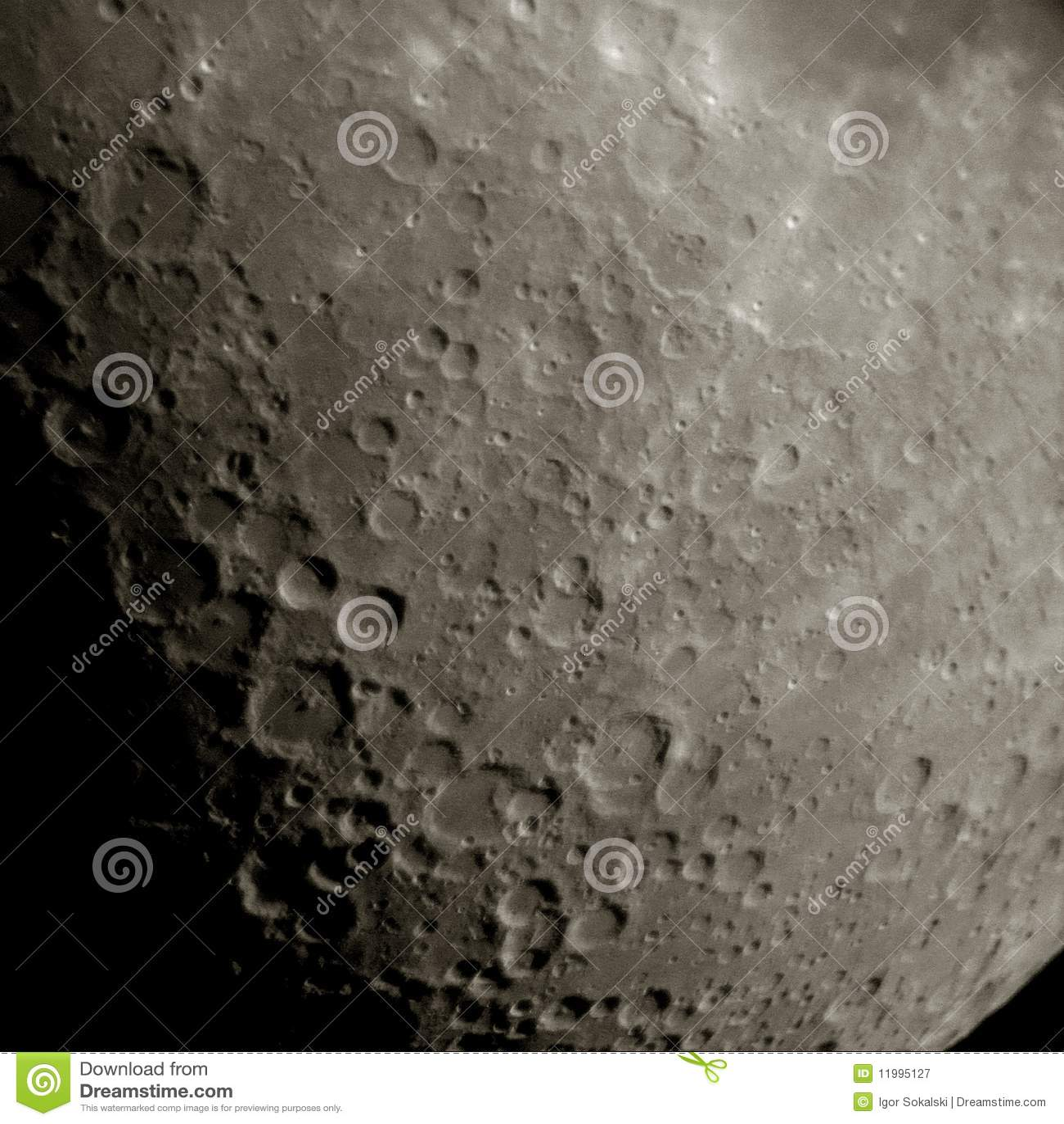 Księżyc powierzchnia