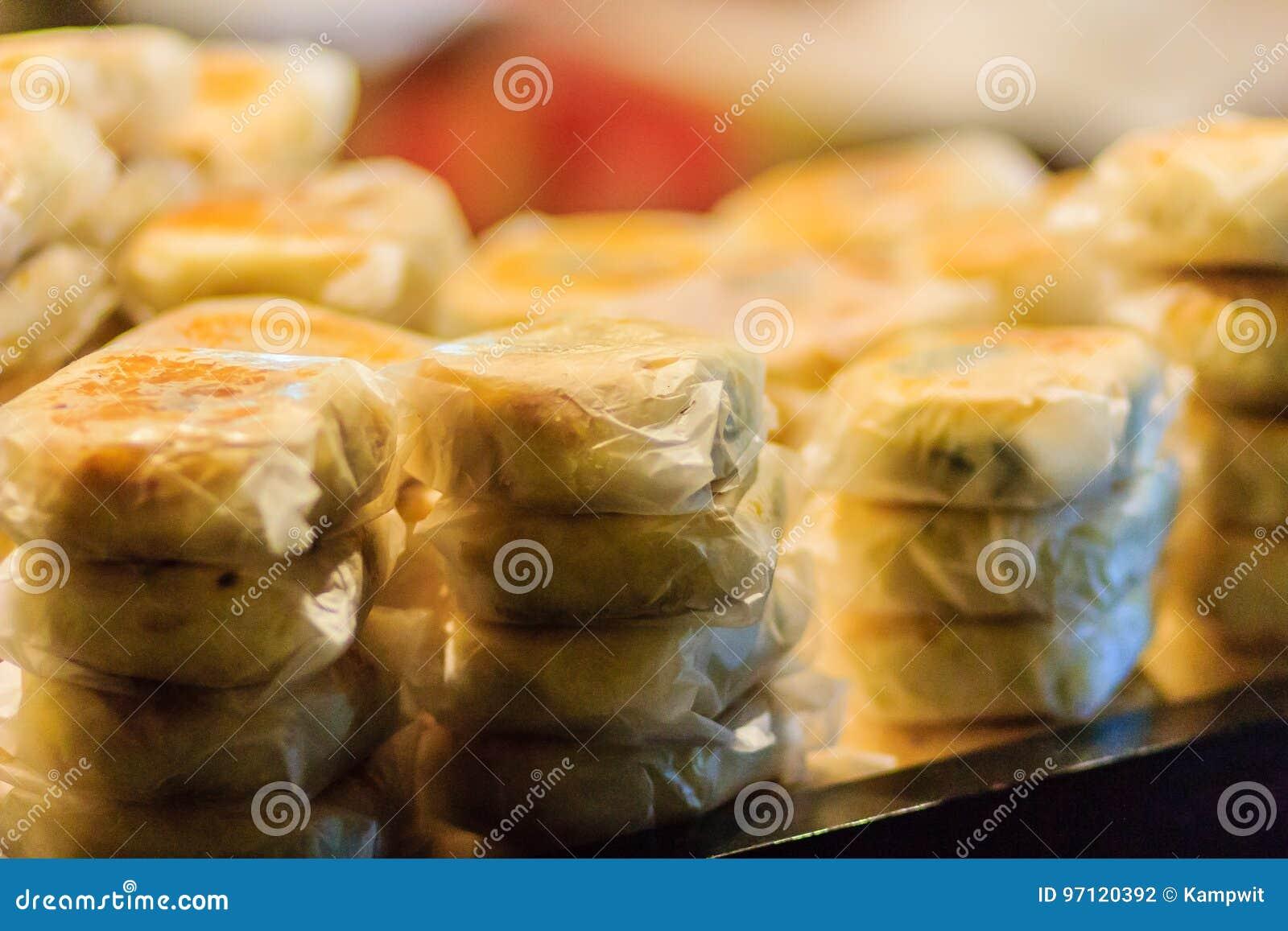 Księżyc tort lub Chiński antyczny deser dzwoniliśmy  Pia , antyczny desser
