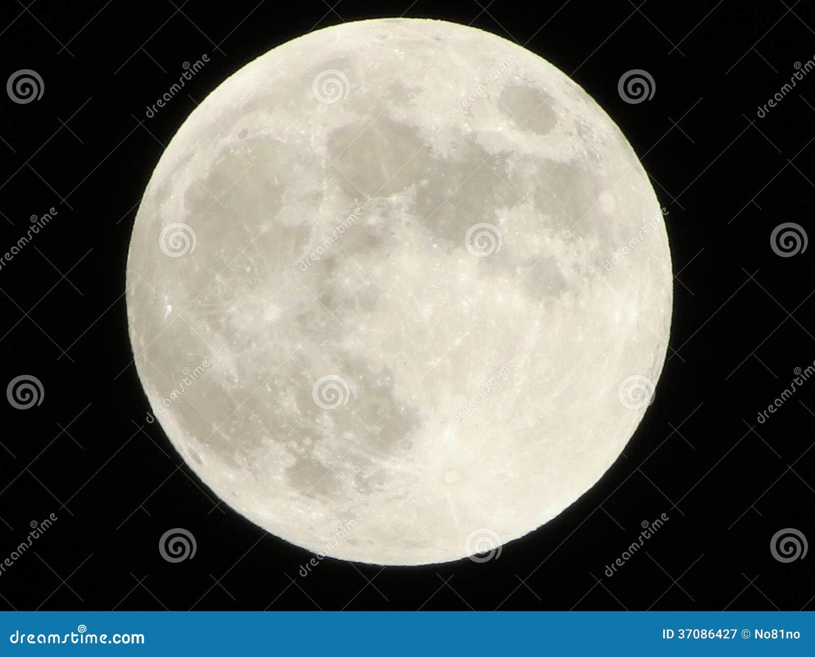 Download Księżyc w pełni obraz stock. Obraz złożonej z halfback - 37086427
