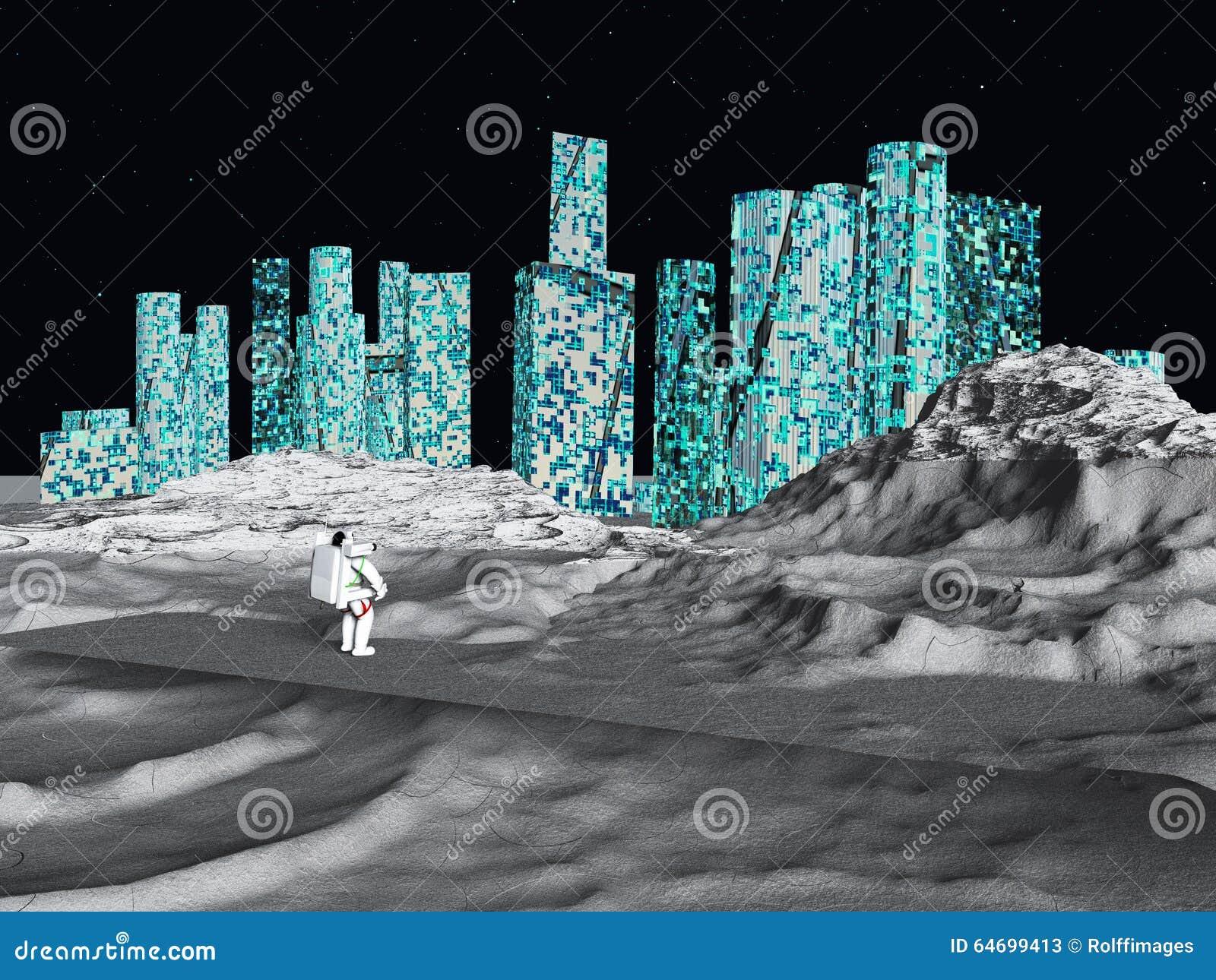 Księżycowy miasto