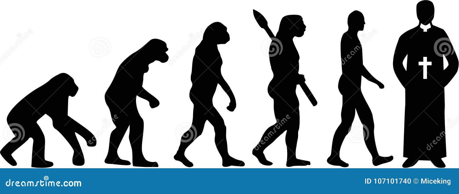 Księdza pastora ewolucja