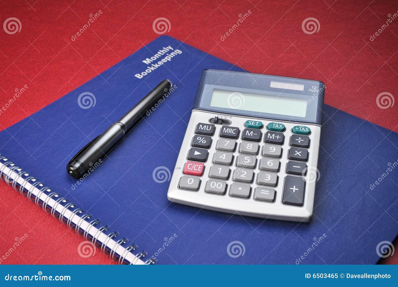 Księgowość rezerwuje kalkulatorów biznesowych koszty