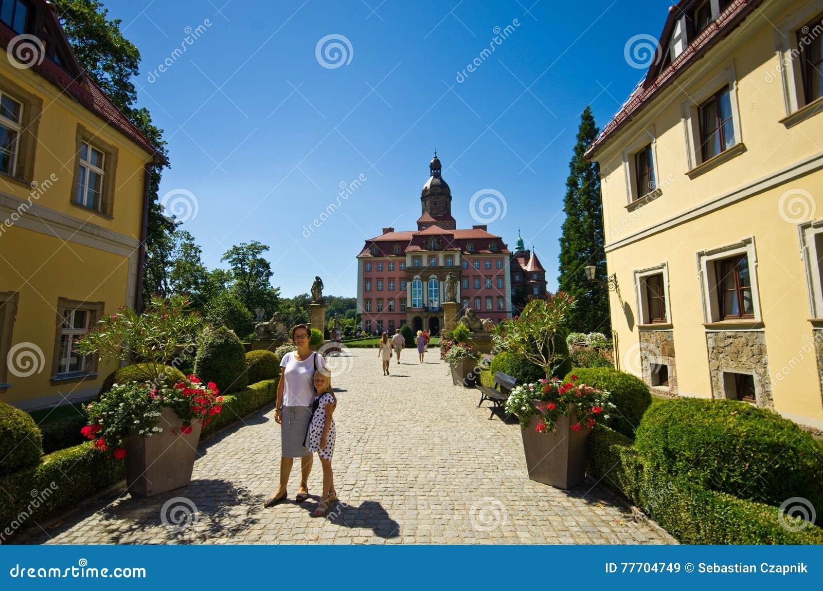 Ksiaz城堡,波兰