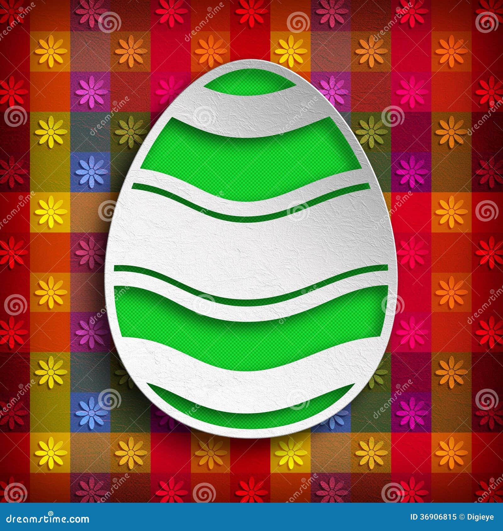 Kształt Wielkanocny jajko