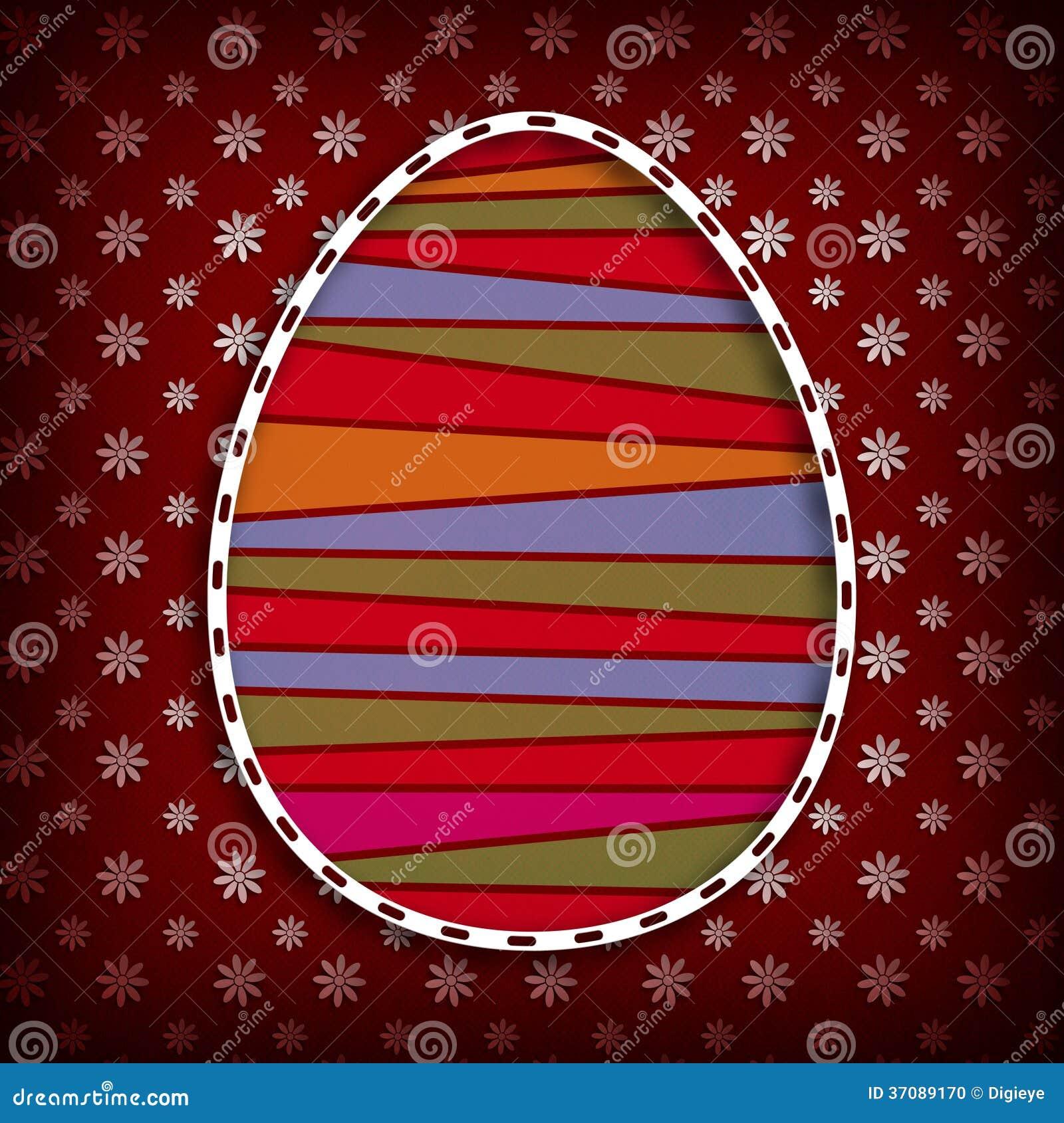 Download Kształt Barwiony Wielkanocny Jajko I Kwiaty W Tle Ilustracji - Ilustracja złożonej z ilustracje, tło: 37089170