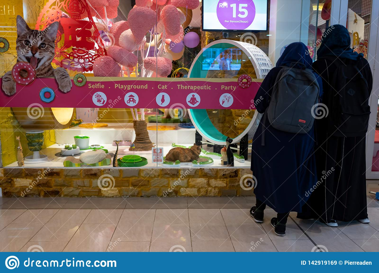 Kuala Lumpur Malaysia February 27 2019 The Cat Playground At Sunway Putra Mall In Kuala Lumpur Editorial Stock Image Image Of Therapy Business 142919169