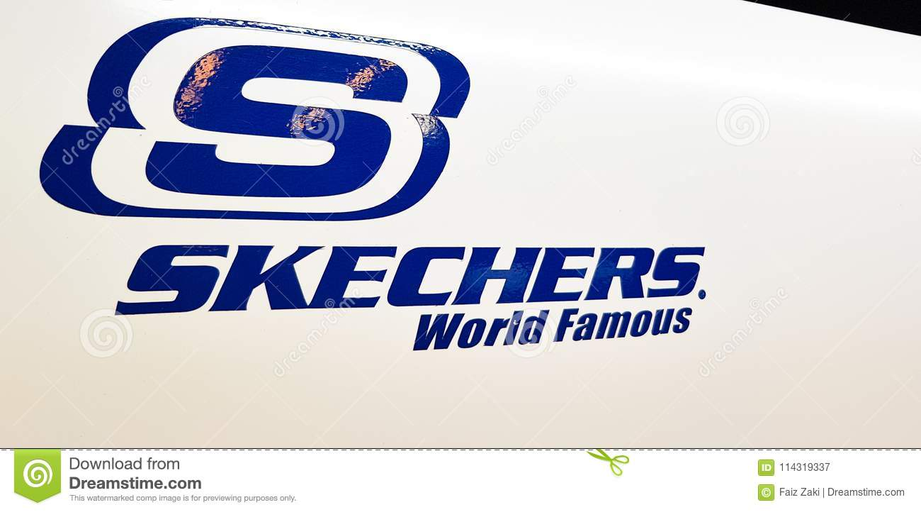 407b17e39e45 Skechers logo editorial photography. Image of outlet - 114319337