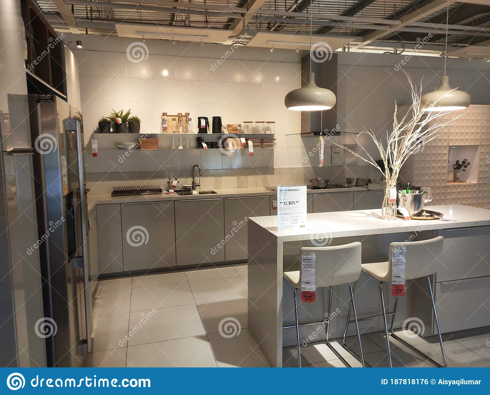 Kitchen Section Inside Ikea Malaysia Showroom Editorial Photo Image Of Decor Consumer 187818176