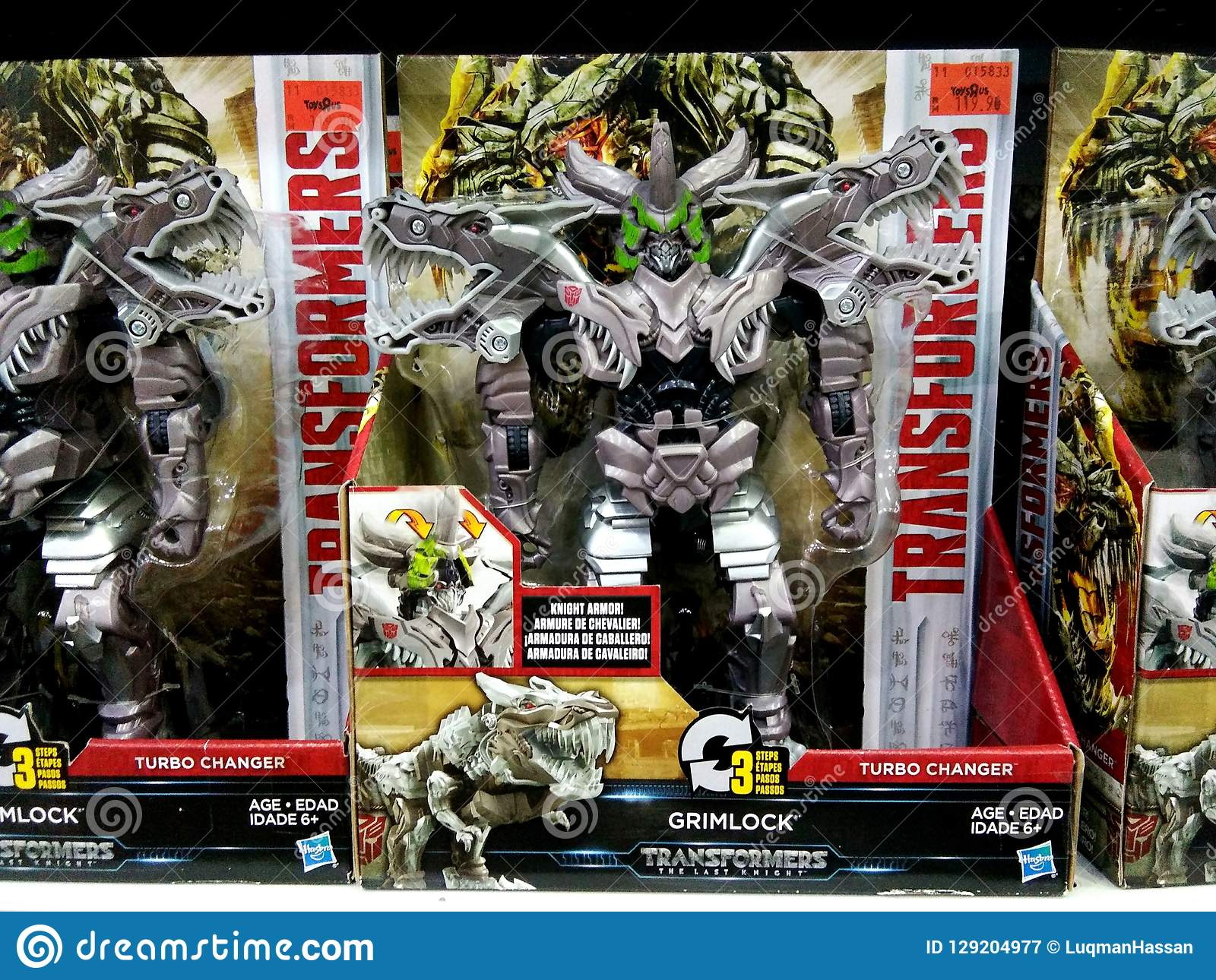 Transformers Toys On Shelves In Shopping Mall  Editorial