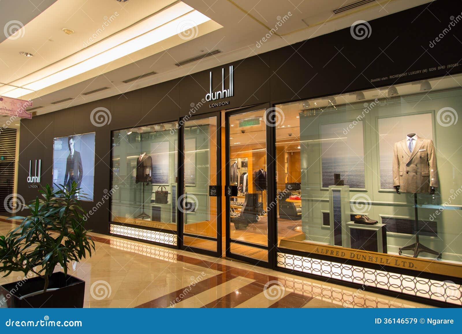 Kuala Lumpur Malaysia Sep 27 Dunhill Shop In Suria Shopping Editorial Stock Image Image