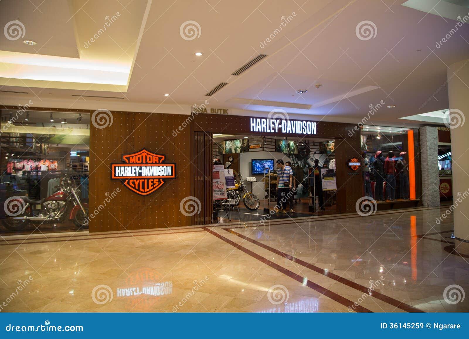 Harley davidson shop