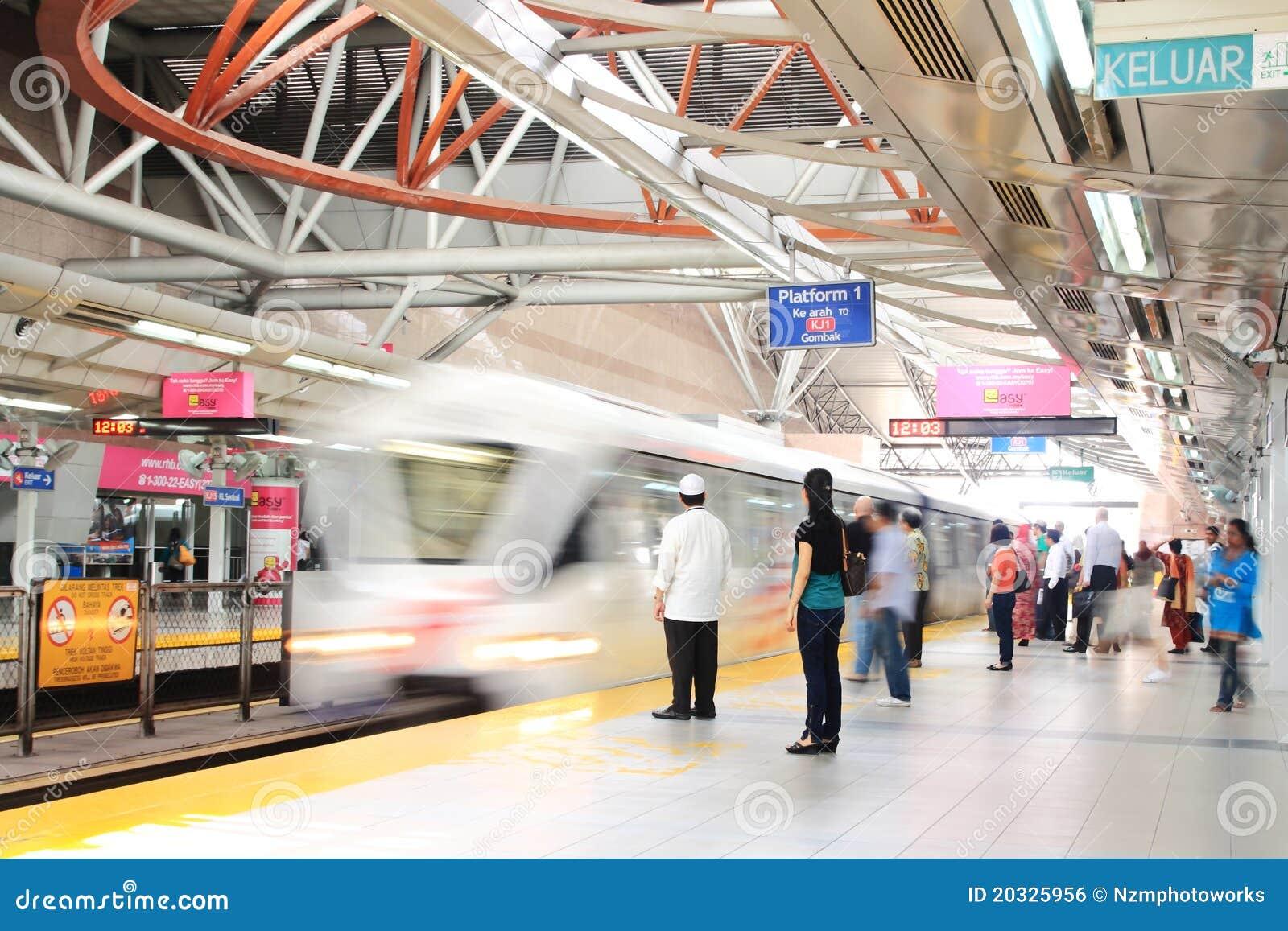 Kuala Lumpur Sentral Train Station