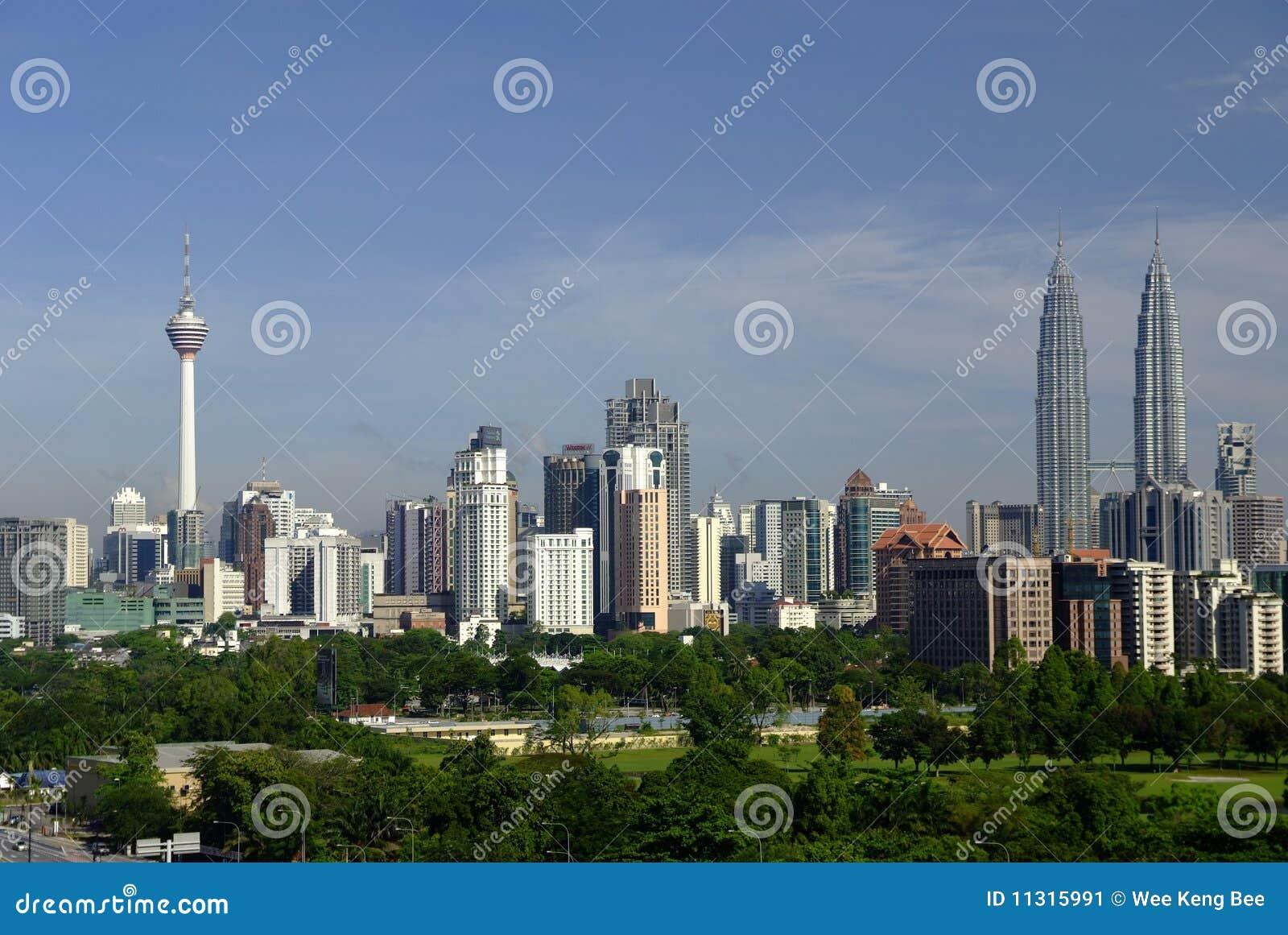 Kuala- LumpurSkyline