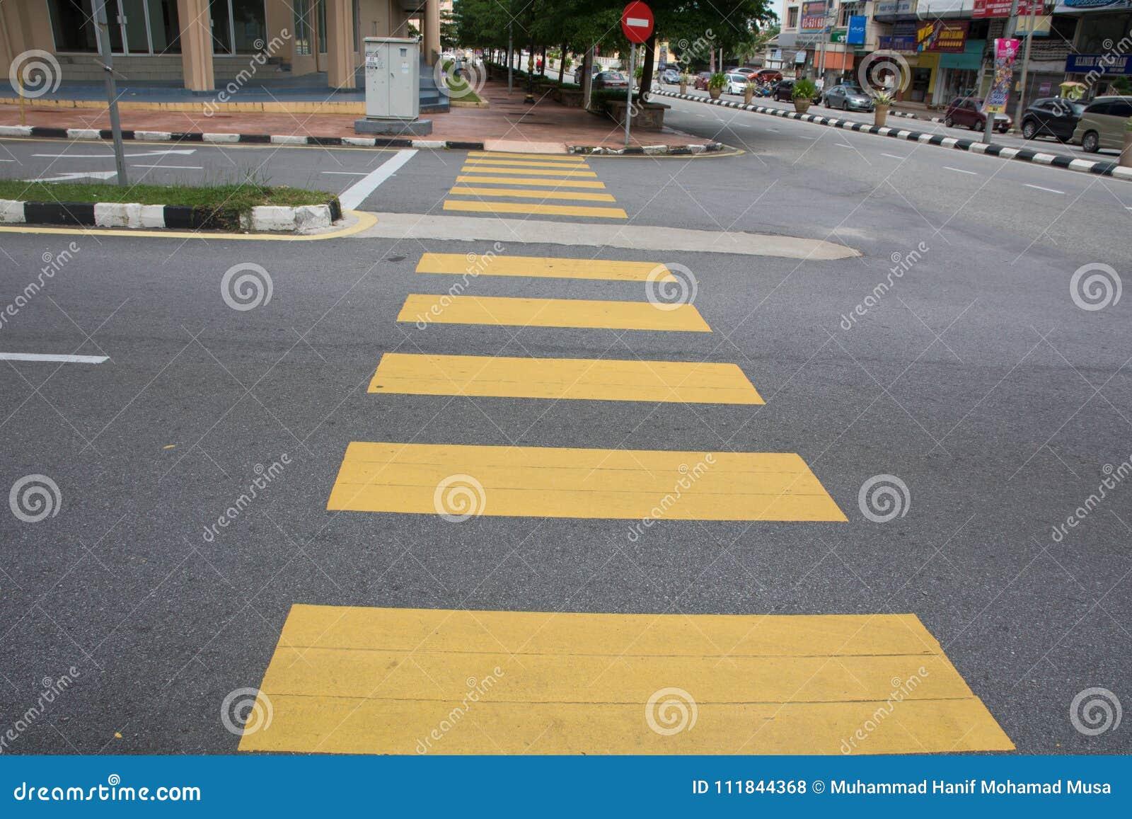 Zebra Crossing Editorial Stock Photo Image Of Alone 111844368