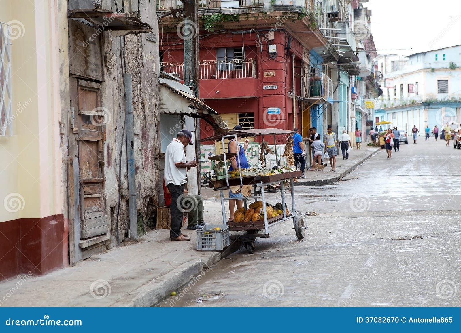 Download Kuba obraz editorial. Obraz złożonej z miasteczko, tradycja - 37082670