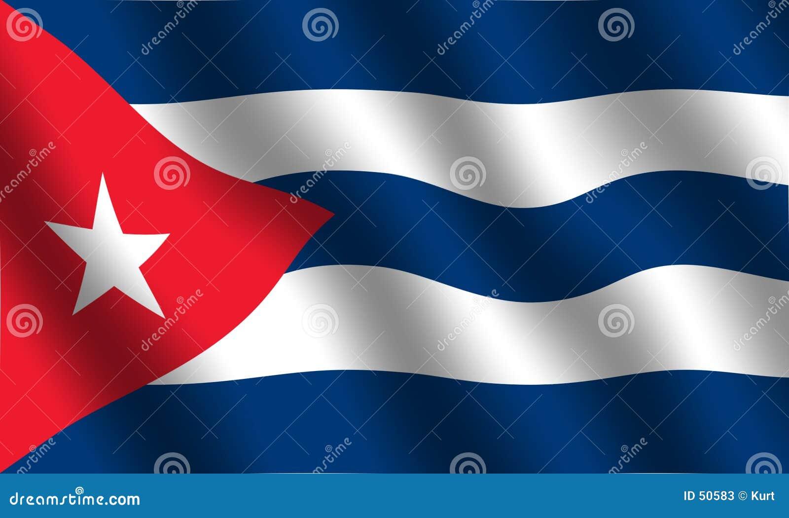 Kubanische Markierungsfahne
