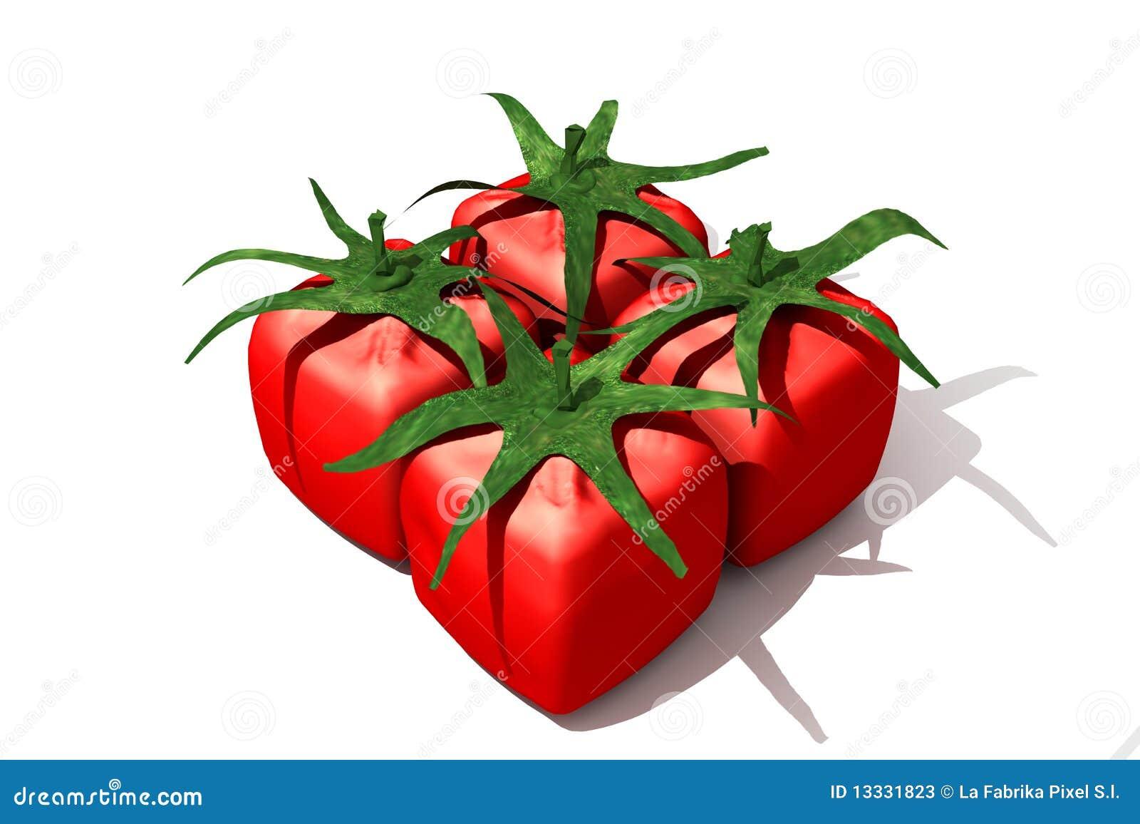 Kubiczny juczny pomidor
