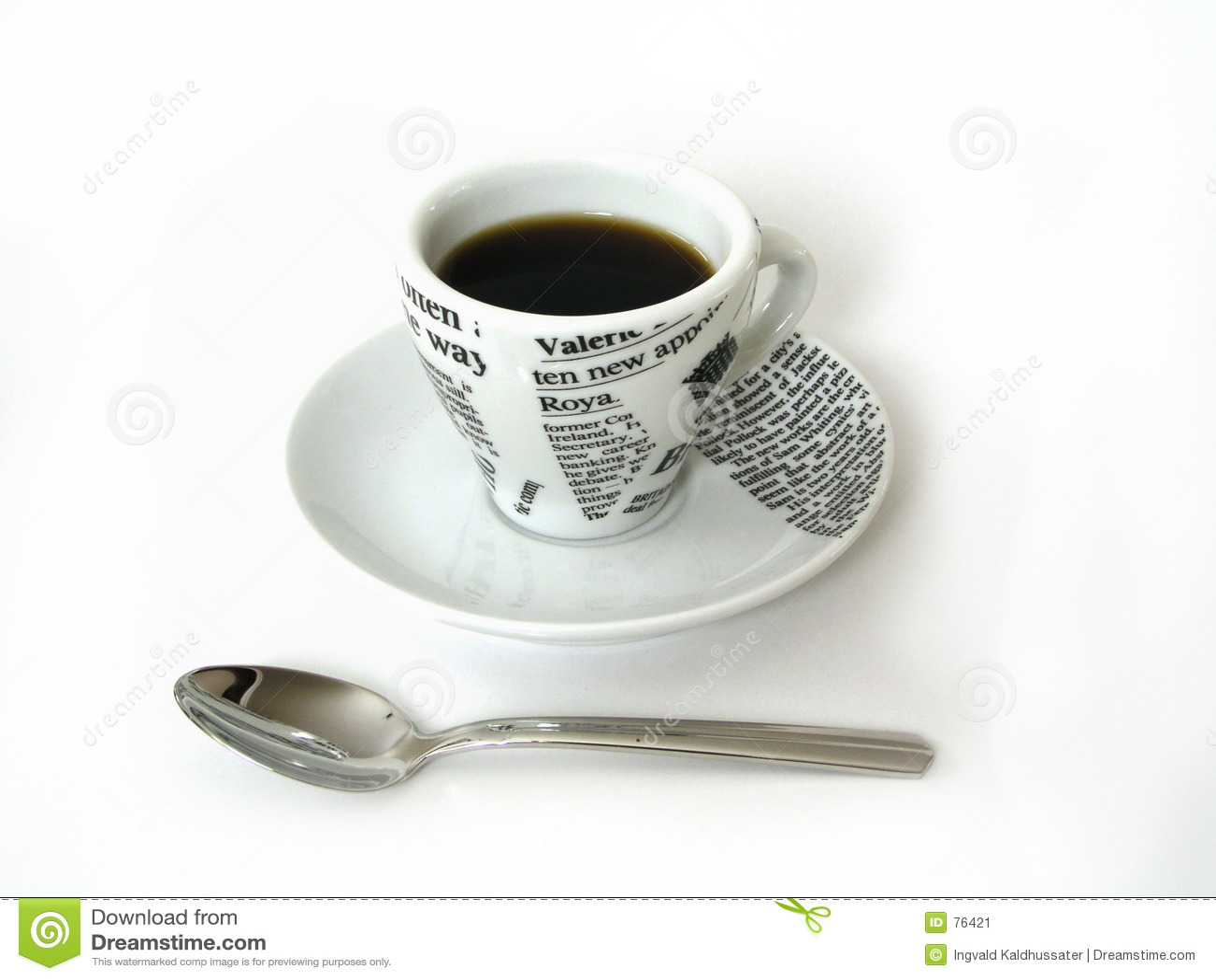 Kubki kawę spoon