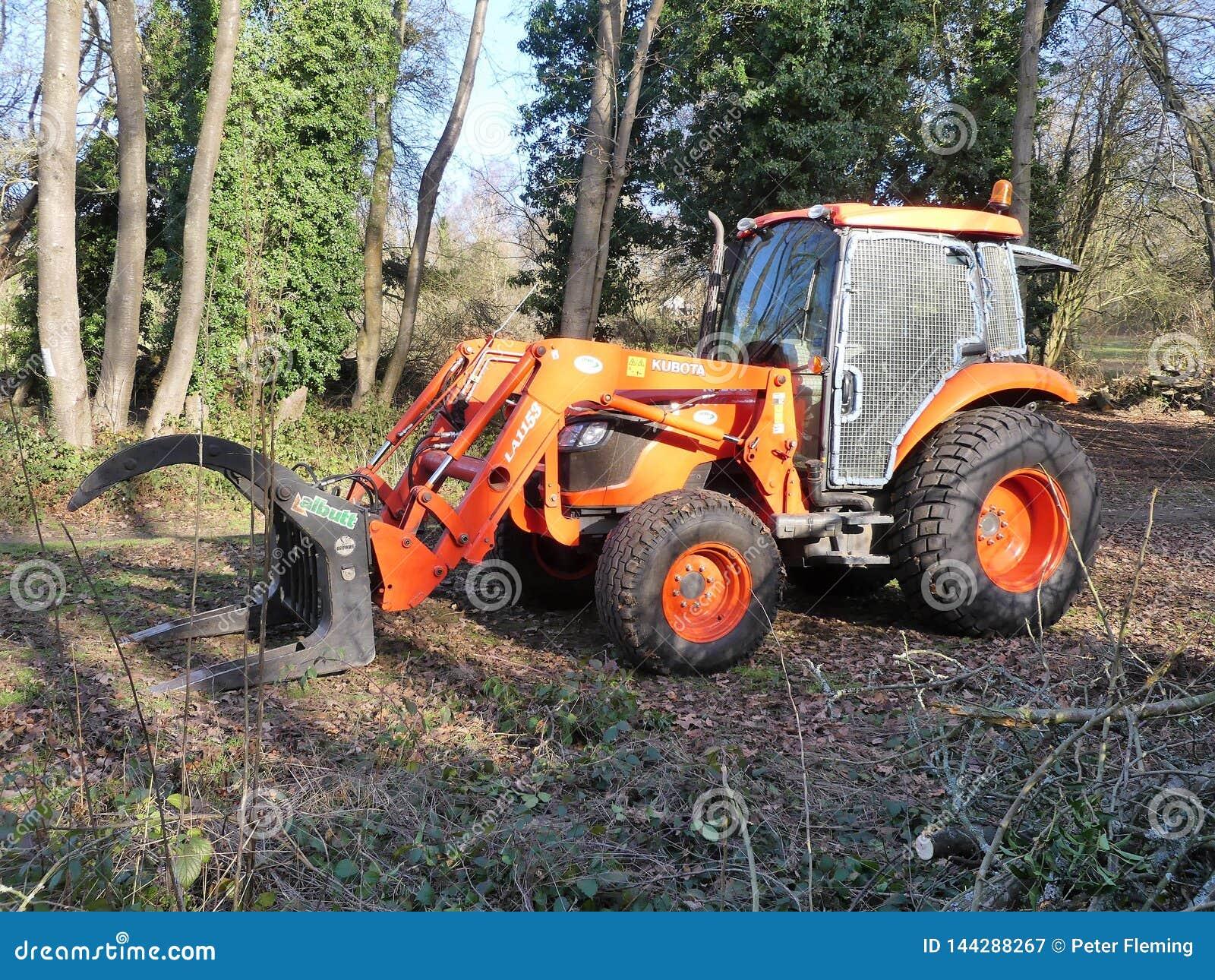 Kubotala1153 Tractor