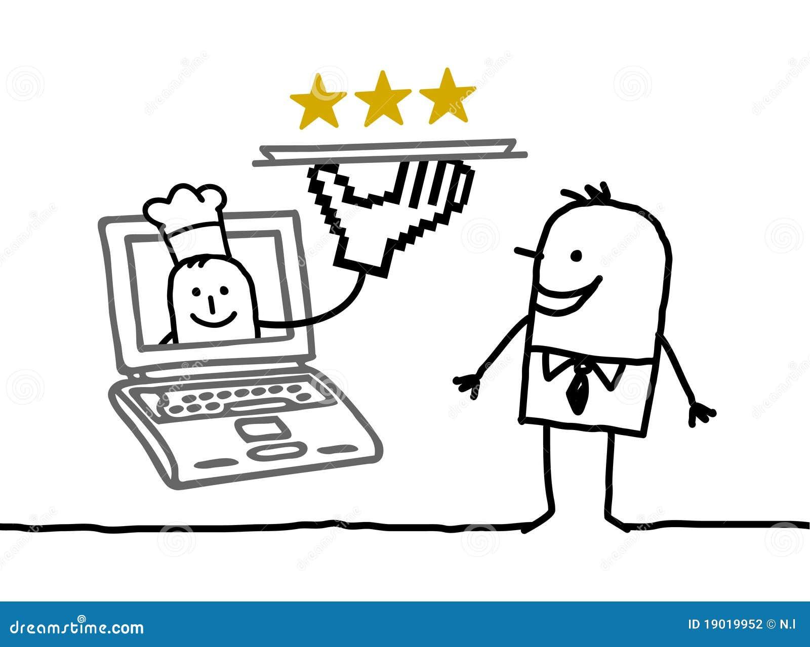 Kucbarskiego mężczyzna online usługa