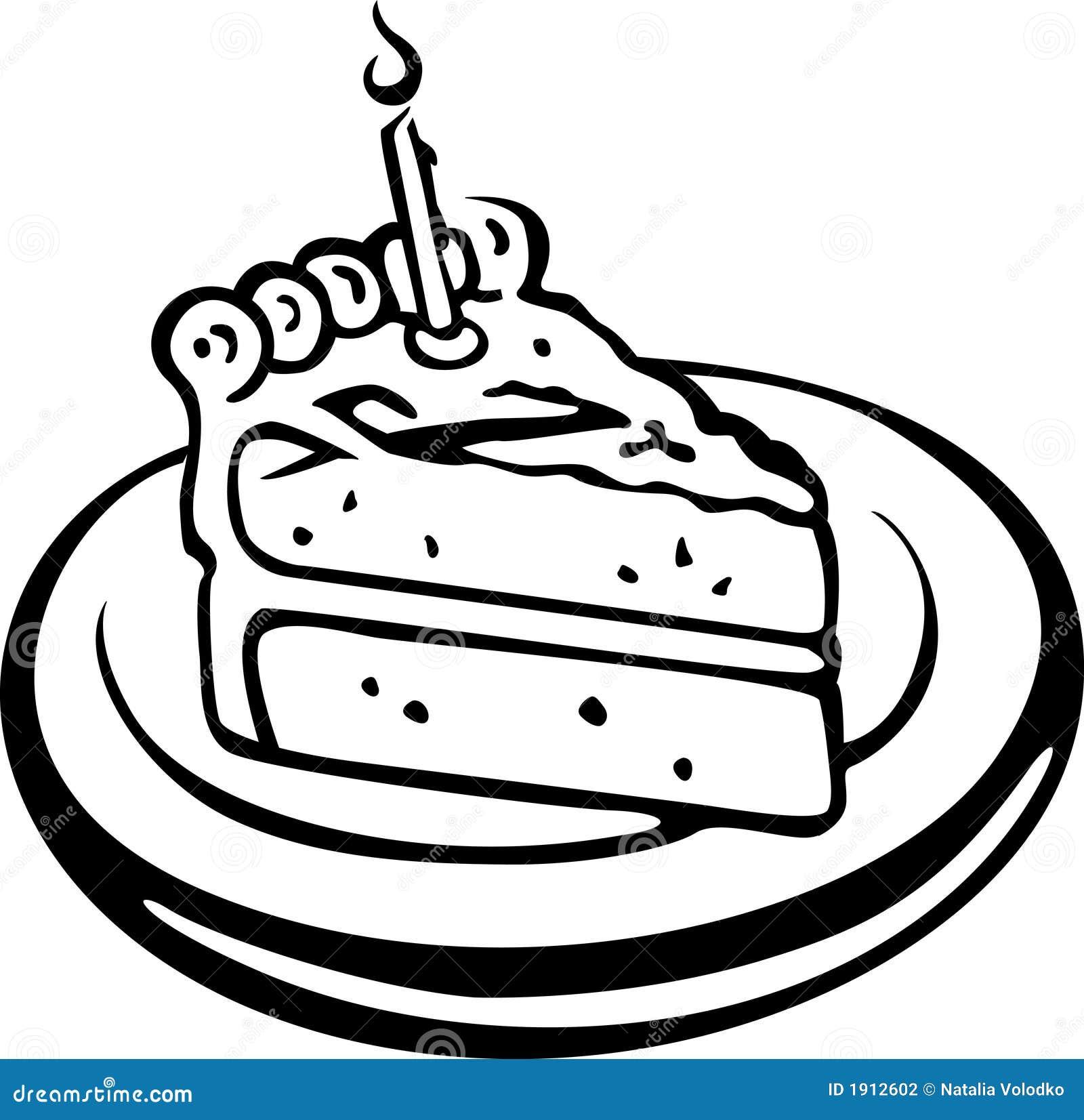 Kuchen Stock Abbildung Illustration Von Durchsickern 1912602