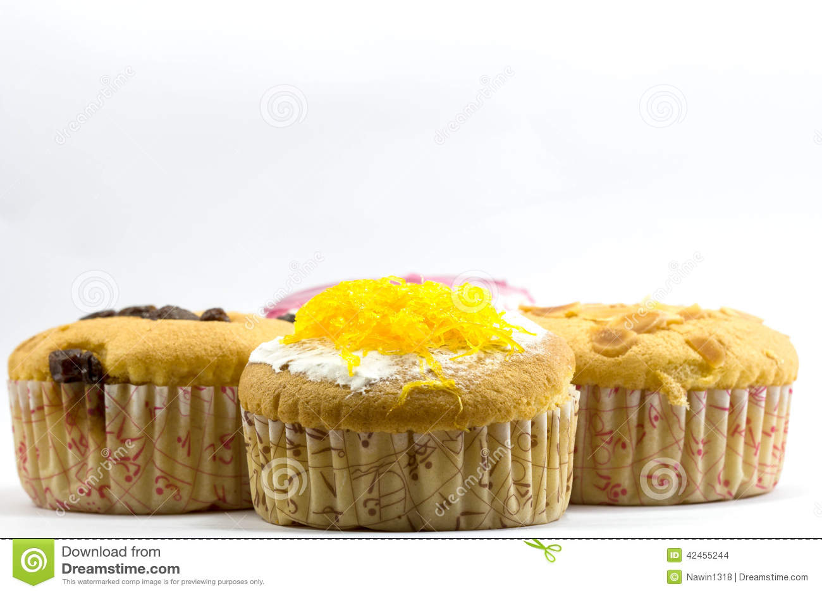 Kuchen des süßen Cup