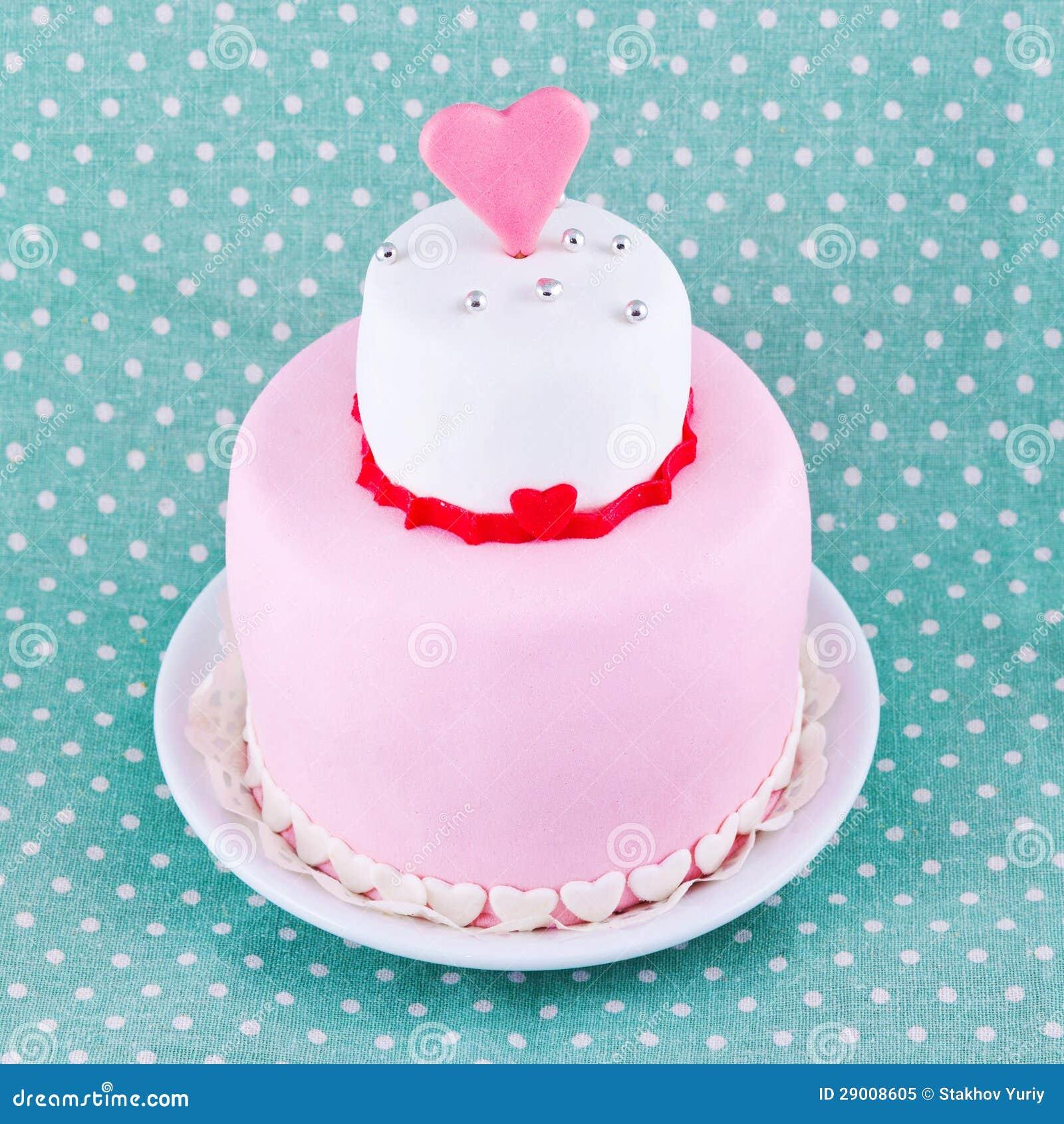 Kuchen Fur Valentinstag Stockbild Bild Von Platte Geburtstage