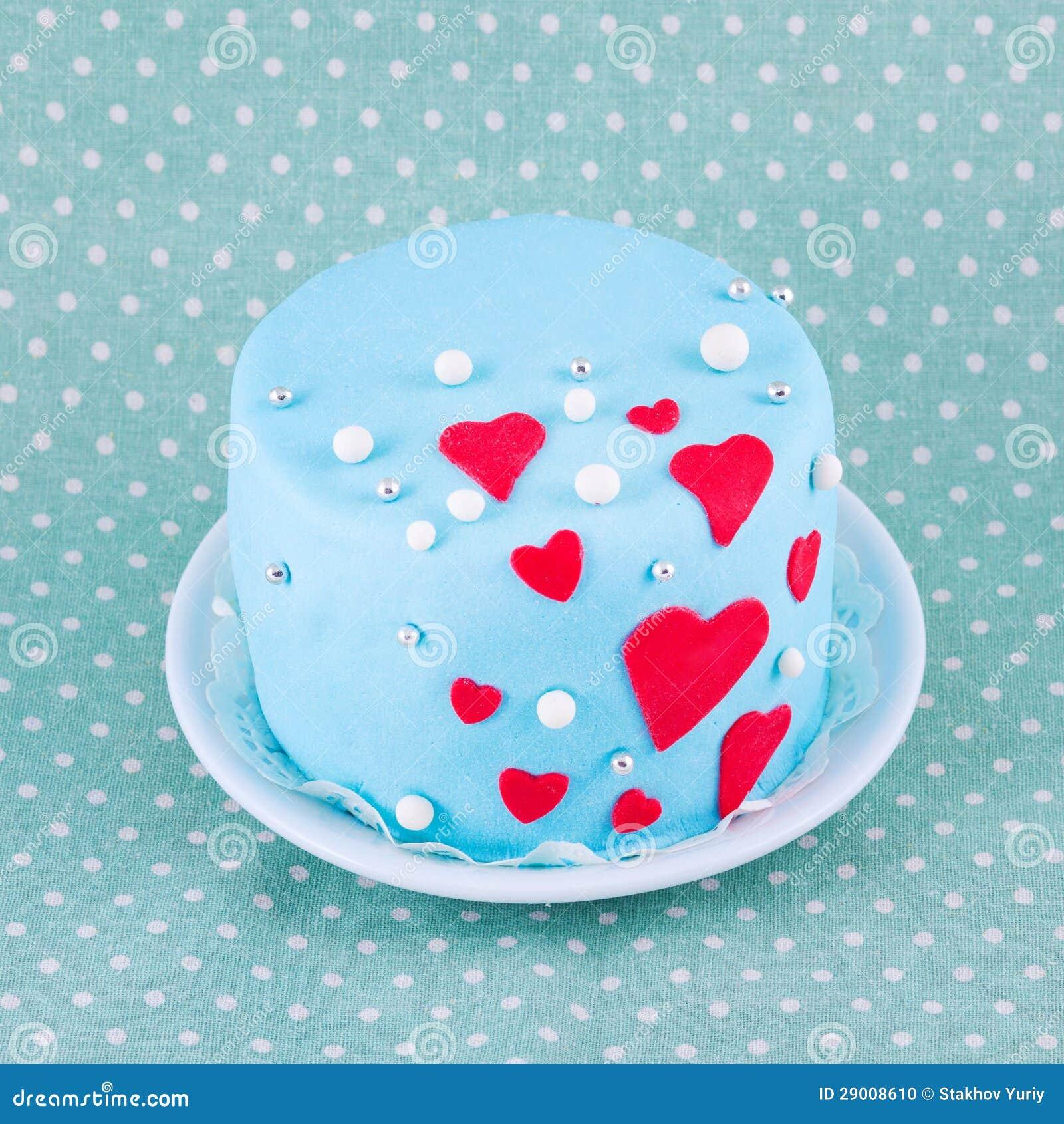 Kuchen Fur Valentinstag Stockfoto Bild Von Rund Niemand 29008610