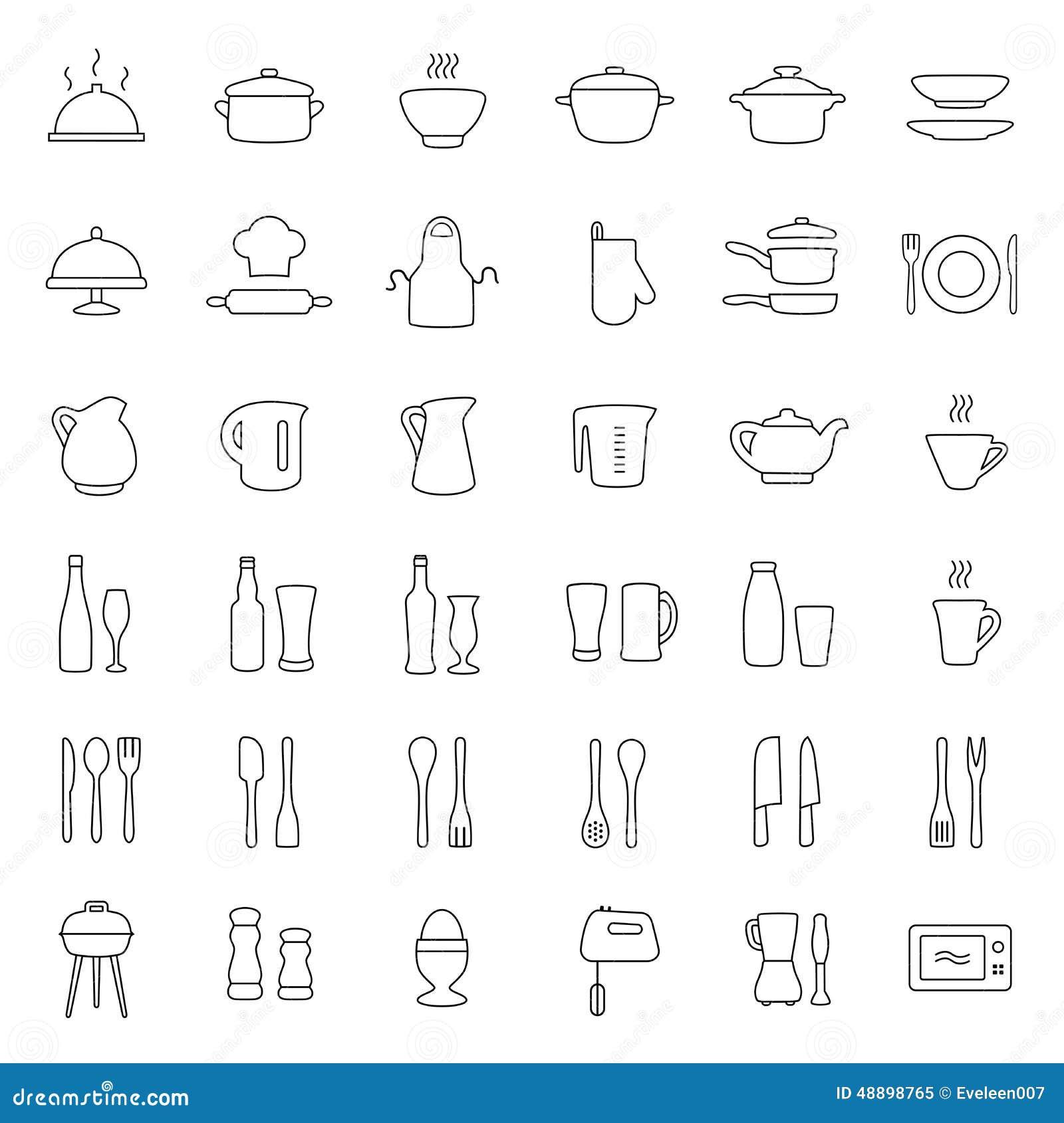 Kuchenne ikony