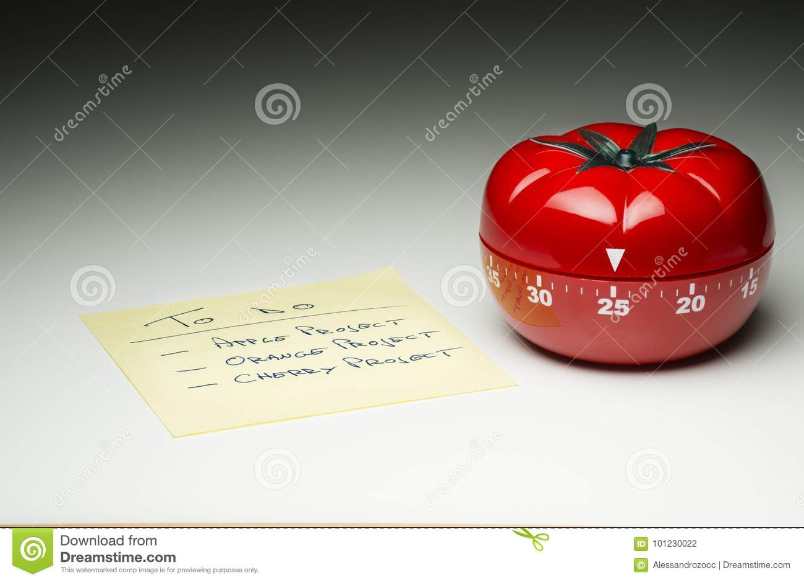 Kuchenny zegar dla gotować productively i pracować