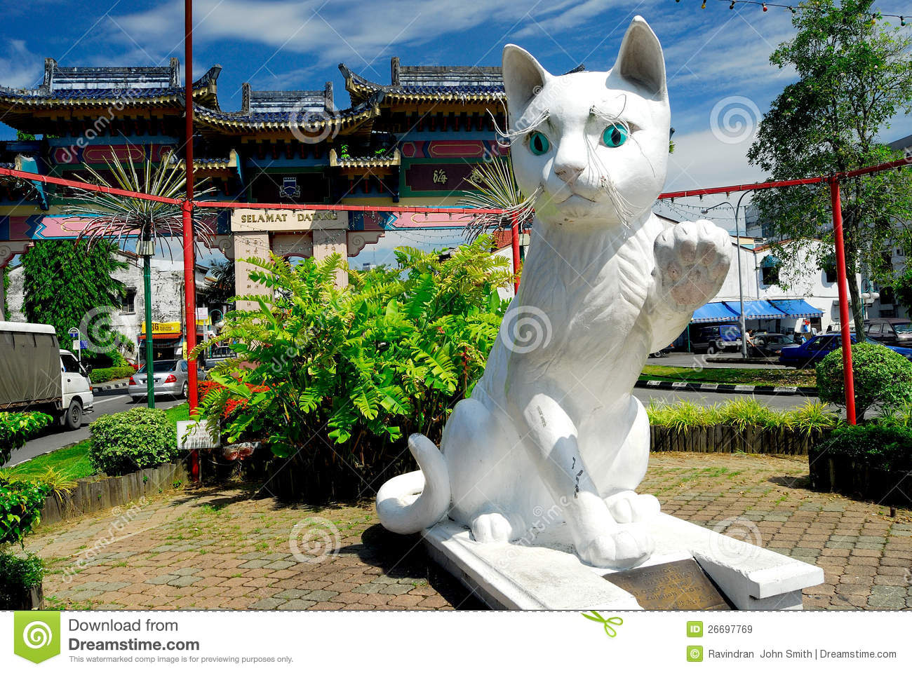 Kuching: the city of cats in Malaysia