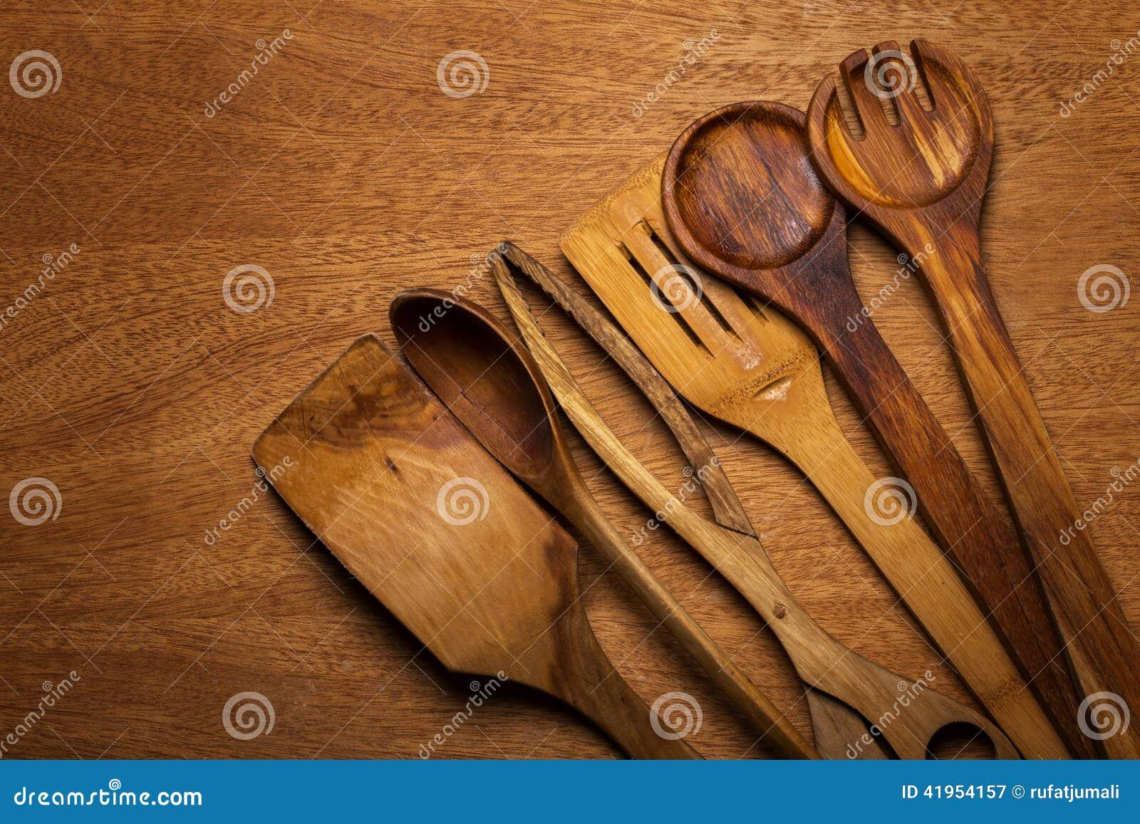 Kuchnia Drewniany naczynie