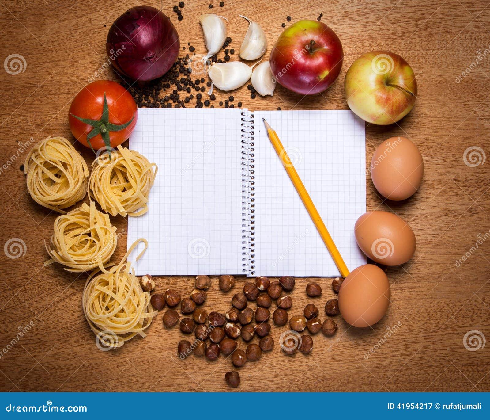 Kuchnia Kulinarna książka i jedzenie