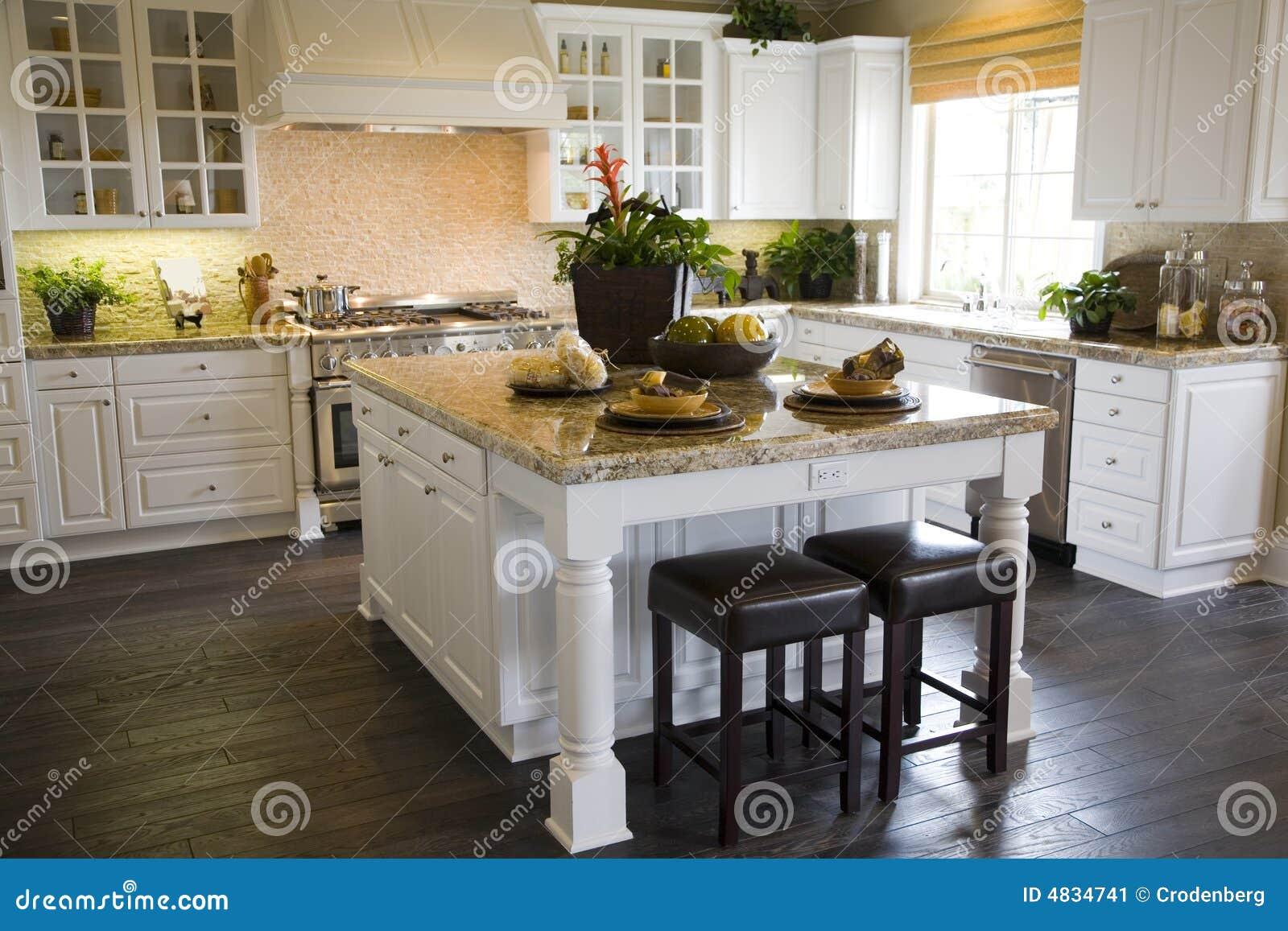 Kuchnia luksusu w domu