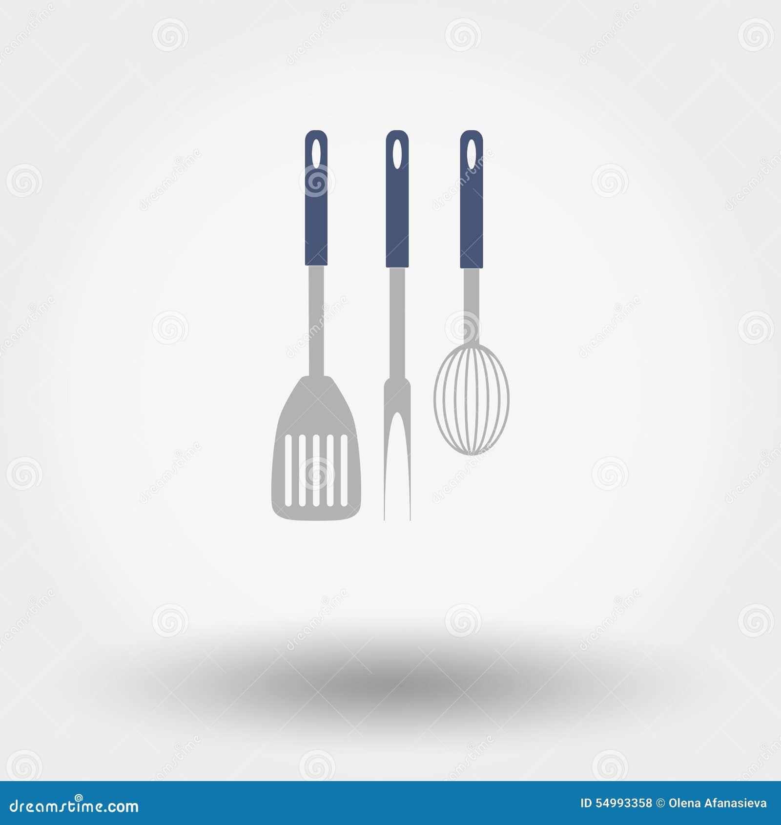 Kuchnia wytłacza wzory sylwetki