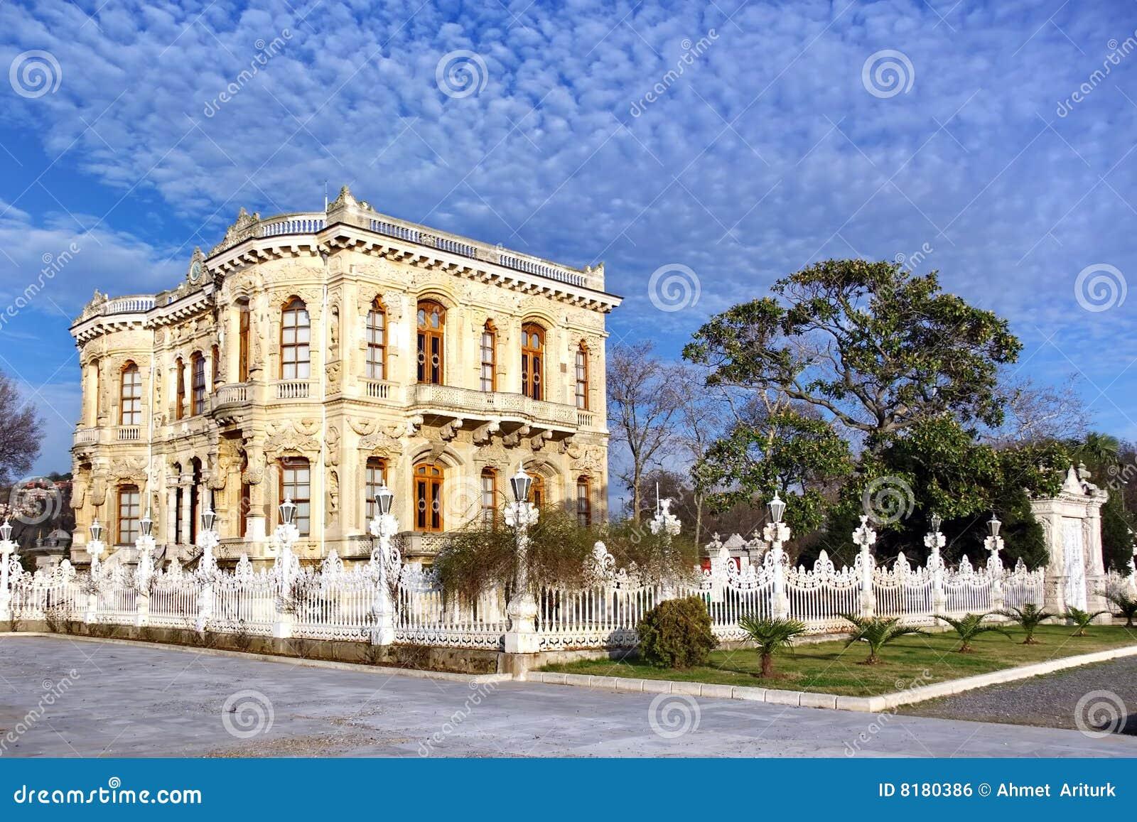 Kucuksu Pavilion Royalty Free Stock Image - Image: 8180386