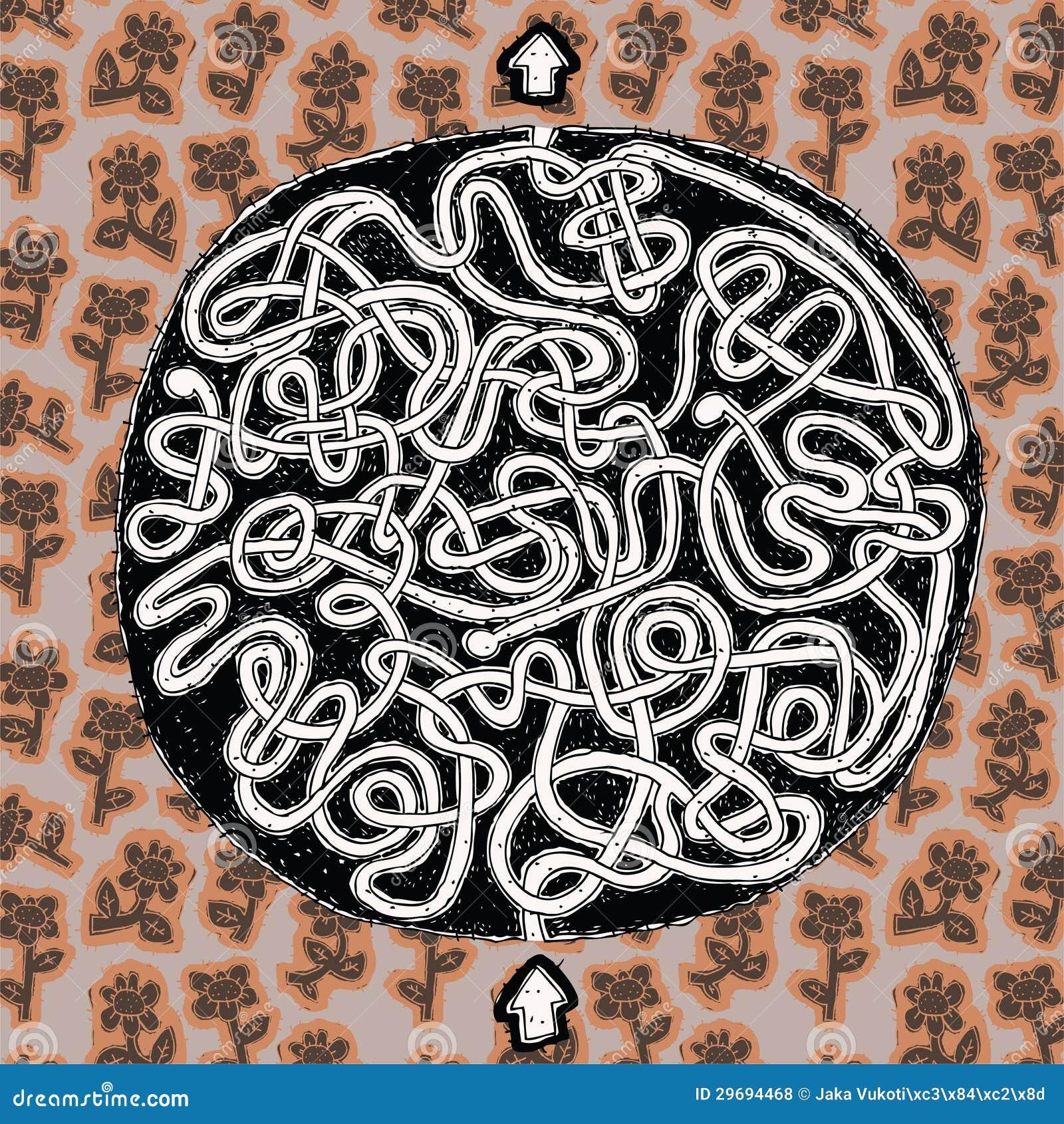 Spiel Kugel Labyrinth