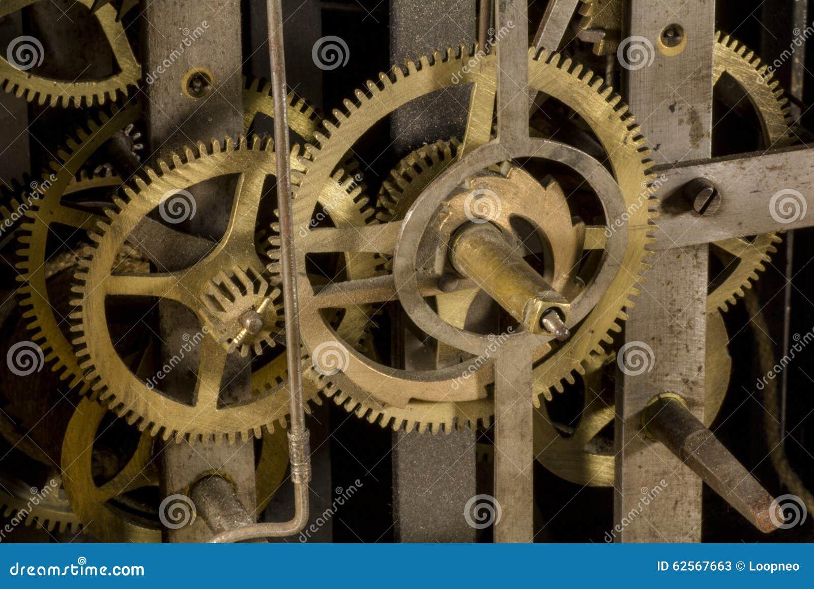 Kugghjul av en klocka