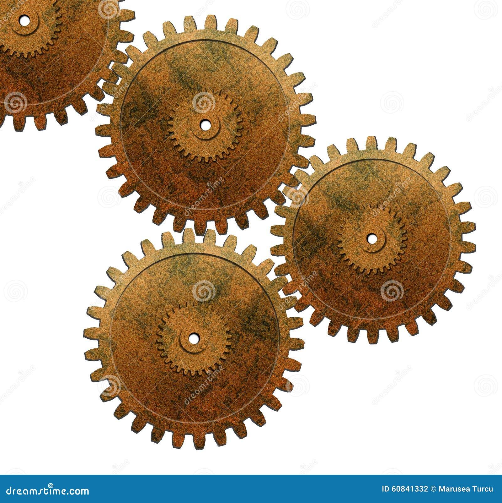 Kugghjul som används i automatisk motor