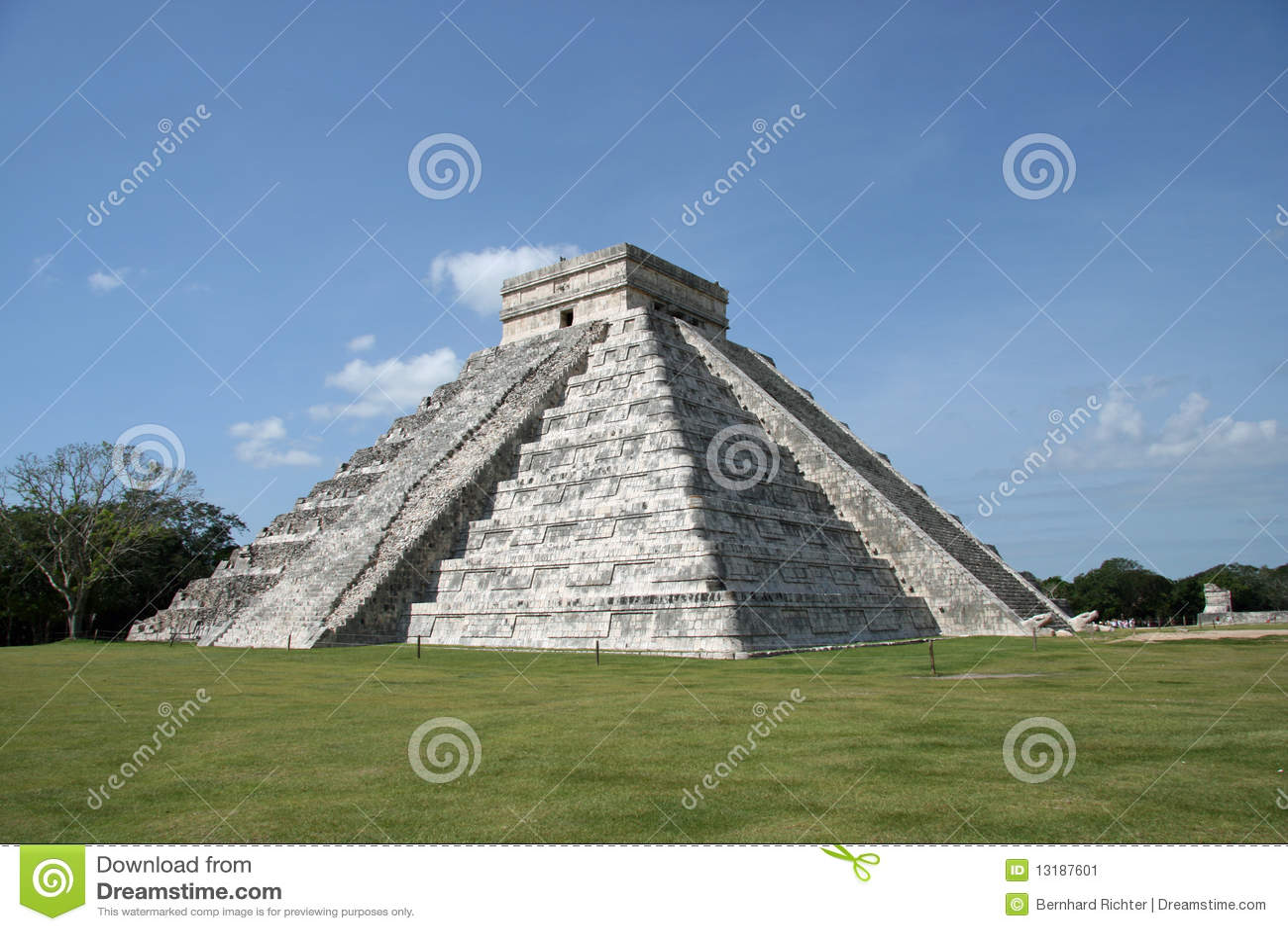 Kukulcan πυραμίδα EL castillo