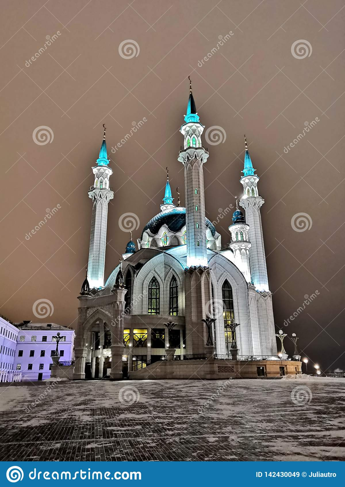 Kul谢里夫清真寺在喀山市